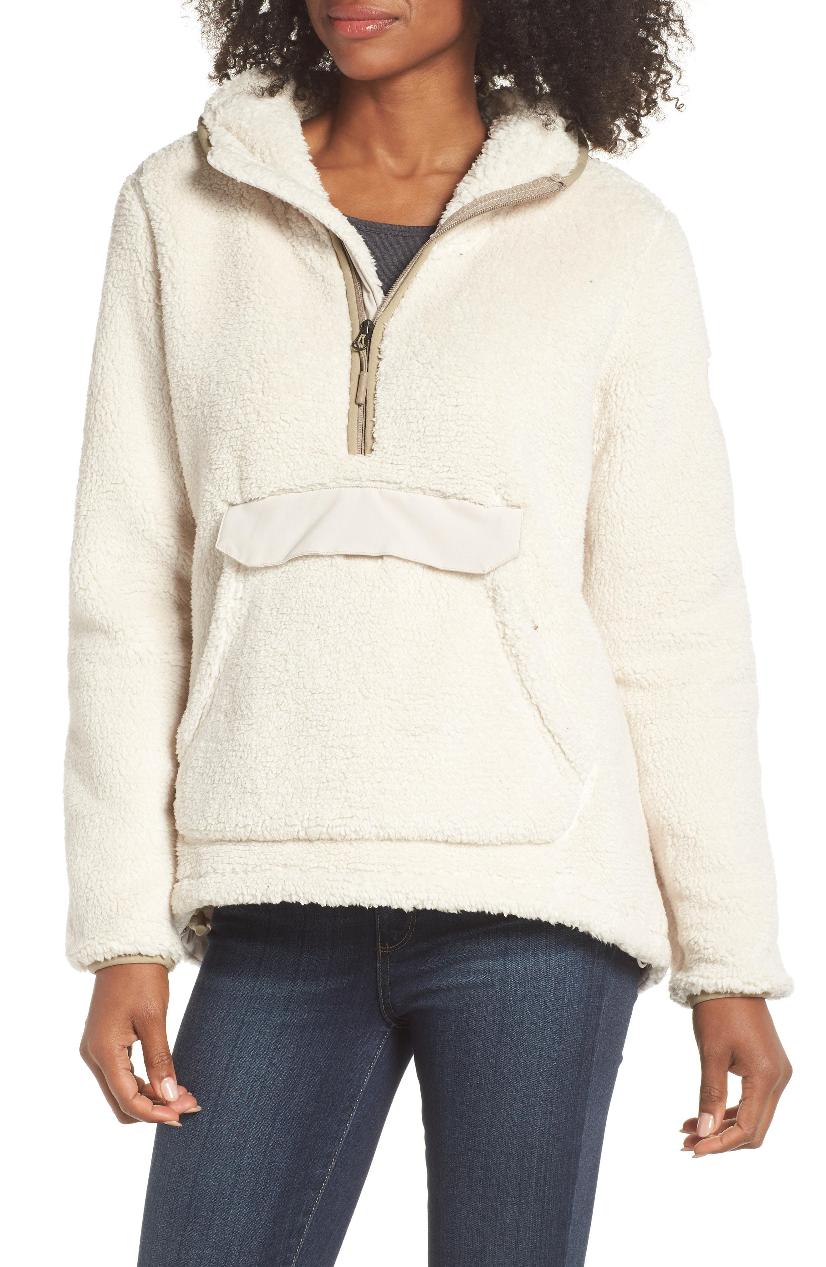 bf438729e5db Lyst - The North Face Campshire High Pile Fleece Pullover Hoodie in ...