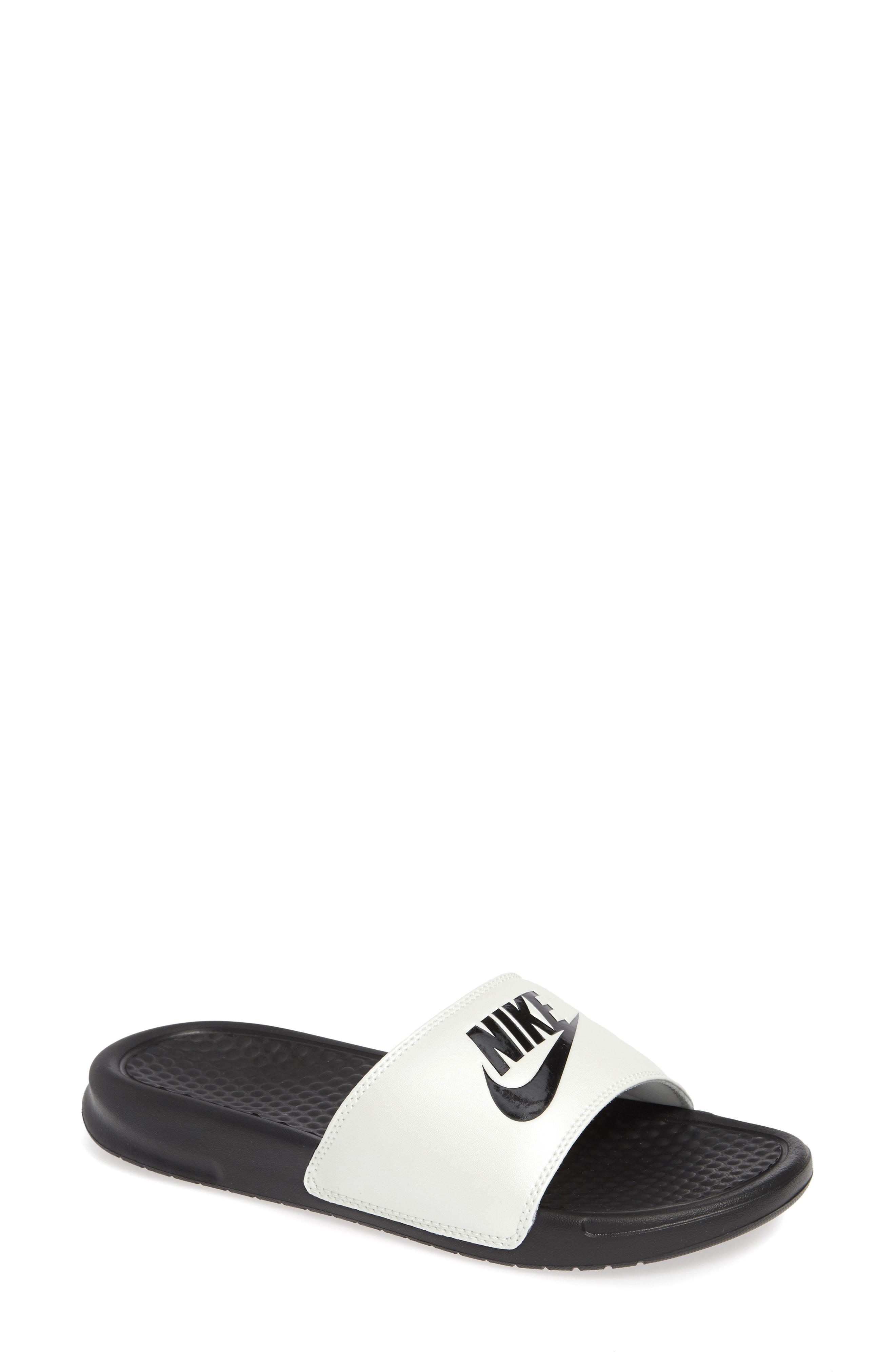 separation shoes eb6f3 041dc Nike. Women s Black Benassi Jdi Slide Sandal