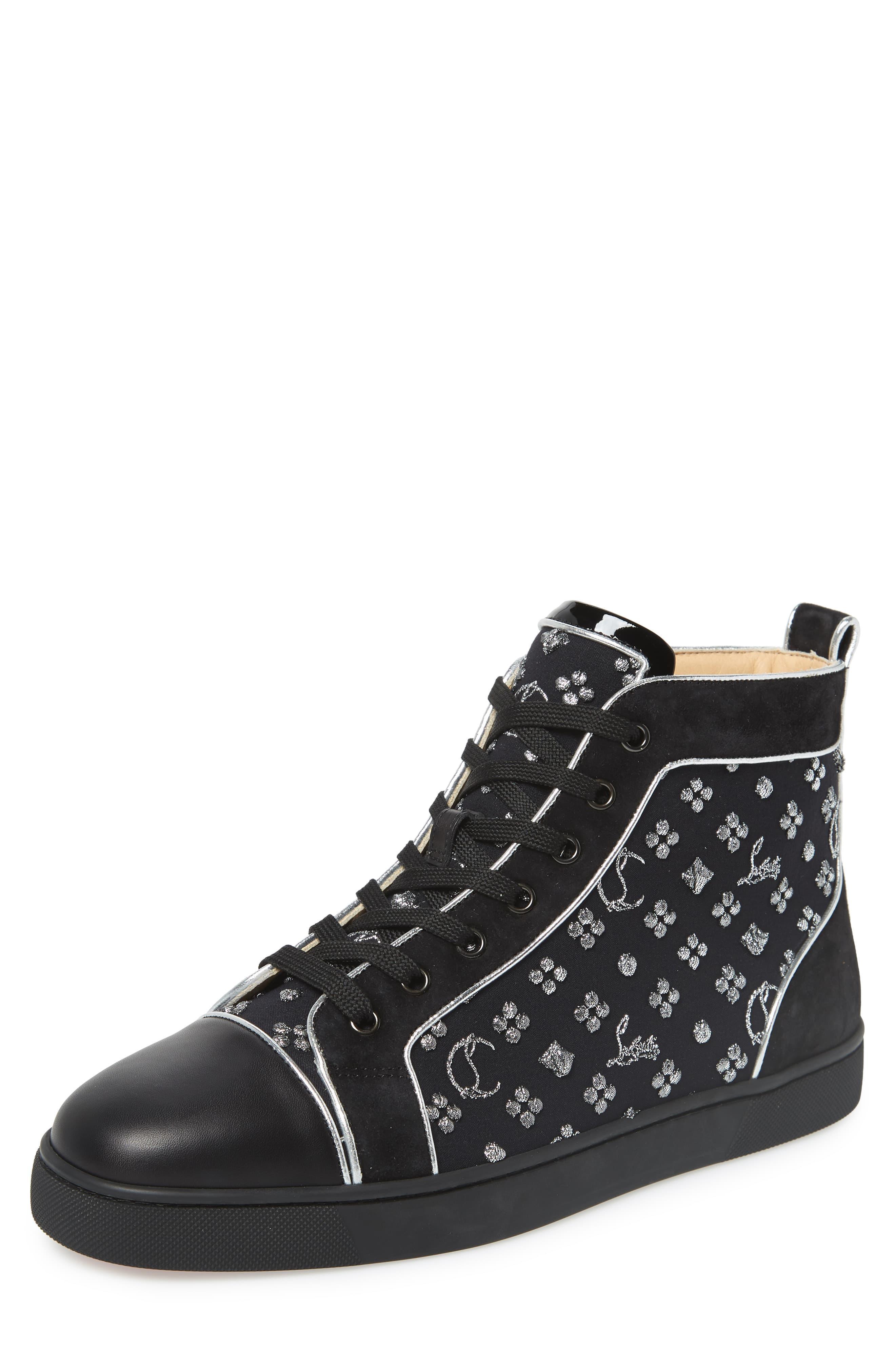 ea78b89078b Men's Black Louis Orlato High Top Sneaker