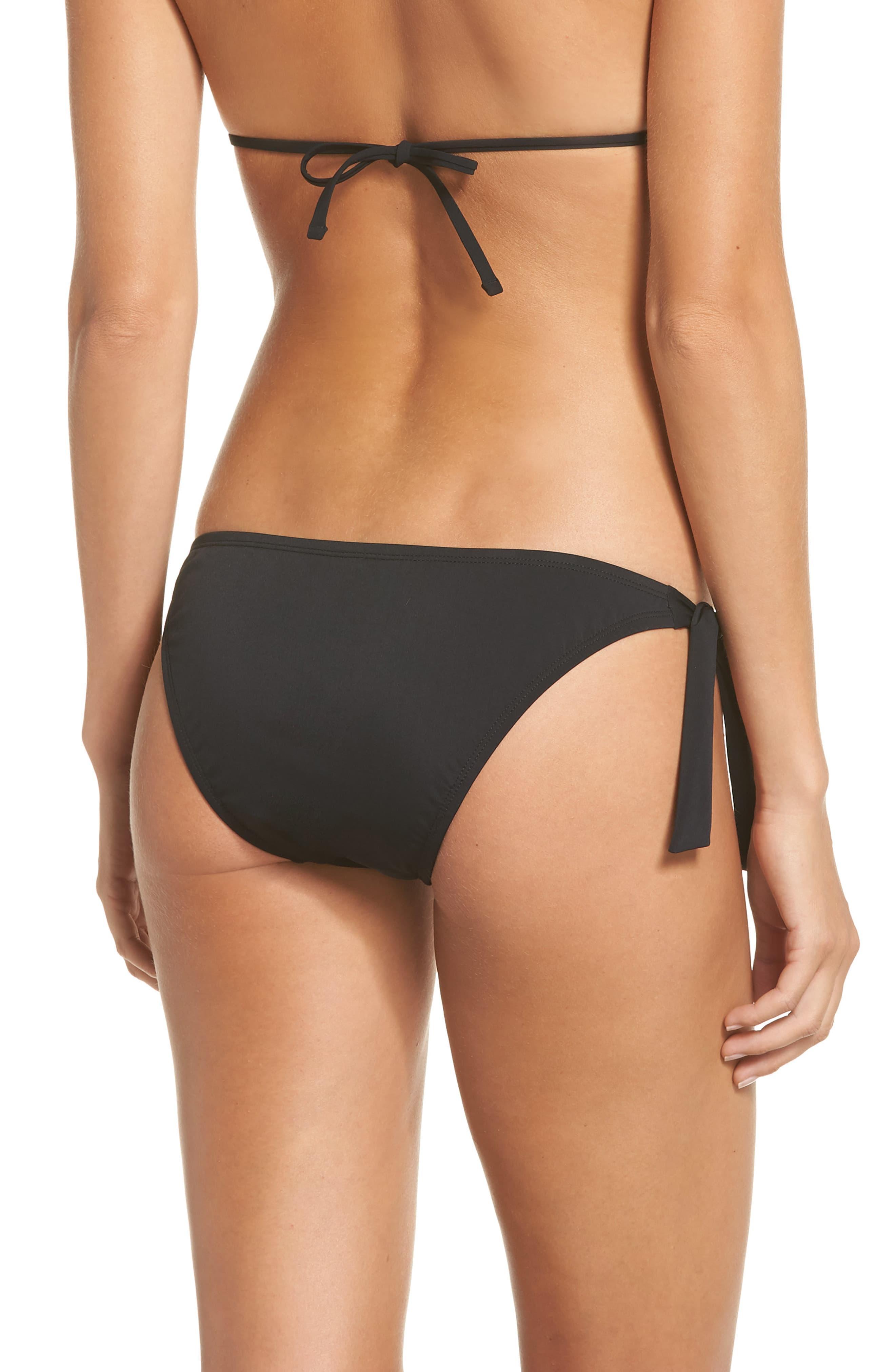 5d9b5bb270 La Blanca Petal Pusher Ruffle Bikini Bottoms in Black - Lyst
