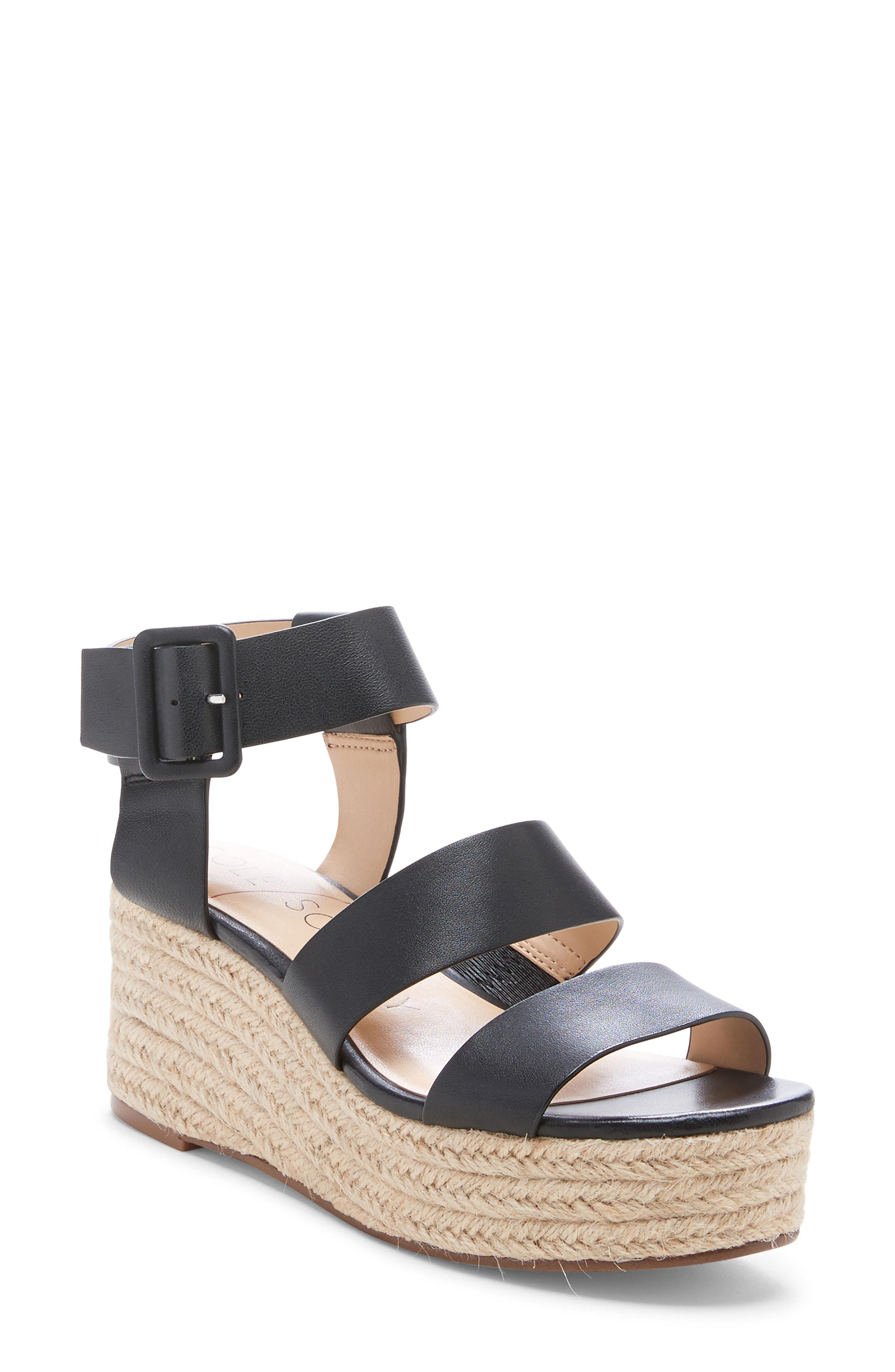 56bcd5ceb4c Lyst - Sole Society Anisa Espadrille Wedge Sandal in Blue