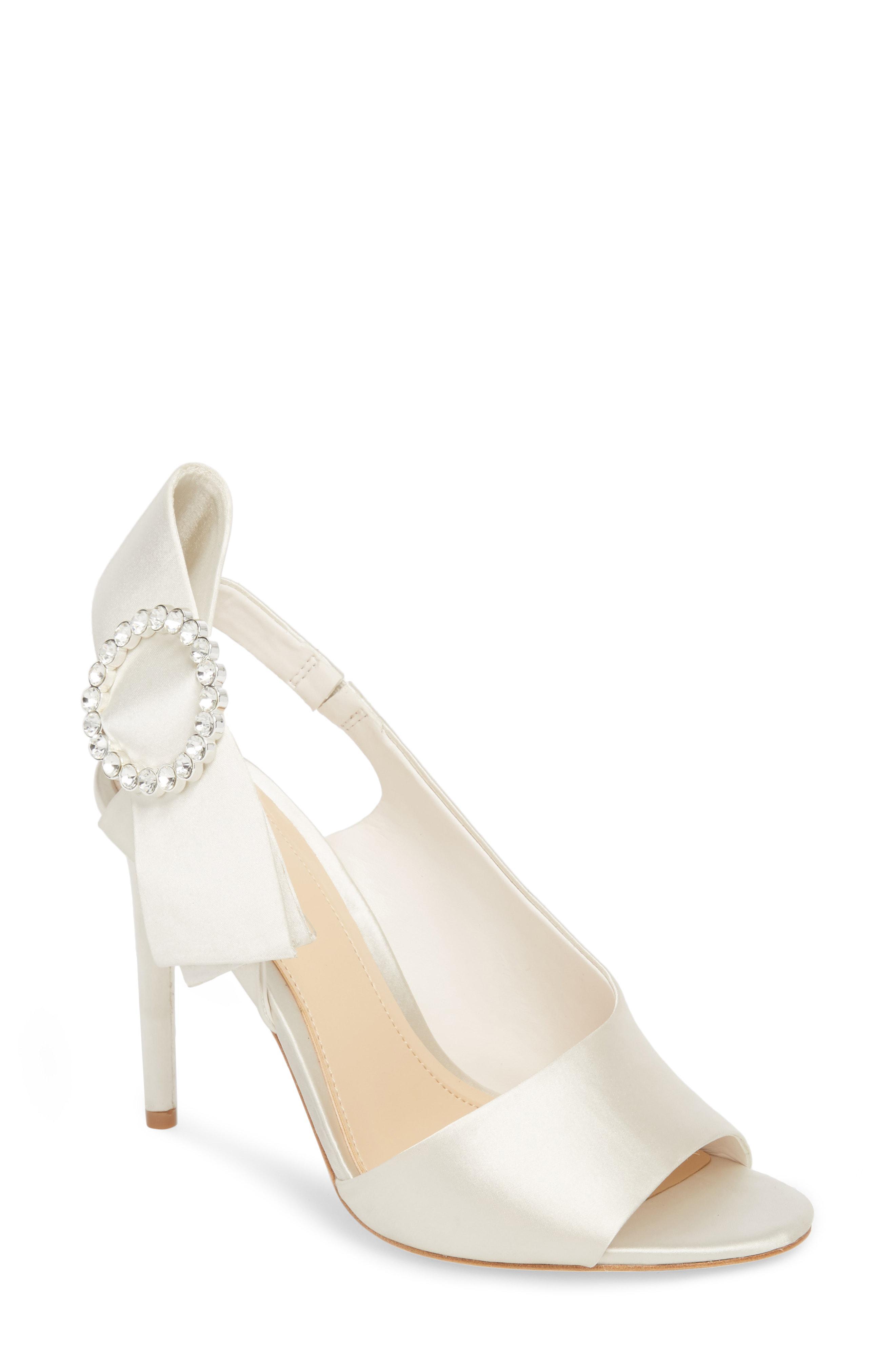 4aa6775d68bf Lyst - Imagine Vince Camuto Regin Sandal in White