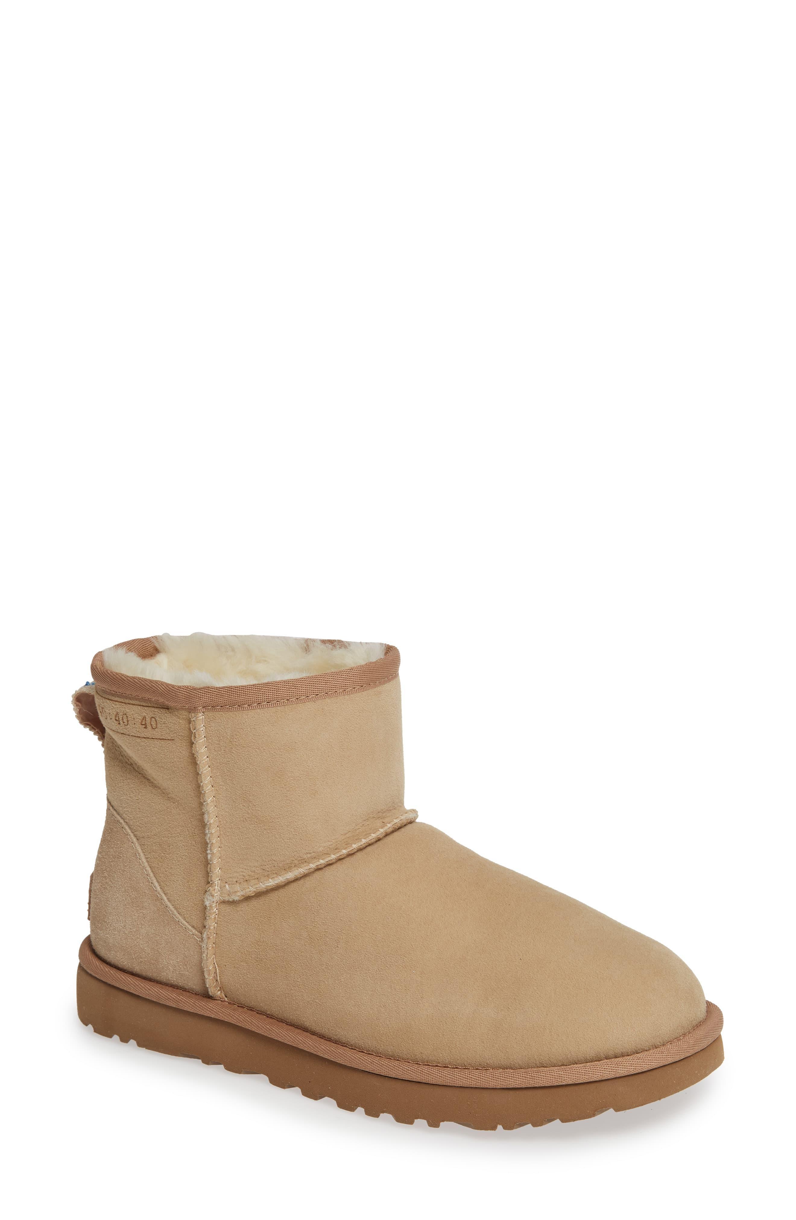 427209f6e01 Women's Natural Ugg Classic Mini 40:40:40 Anniversary Boot
