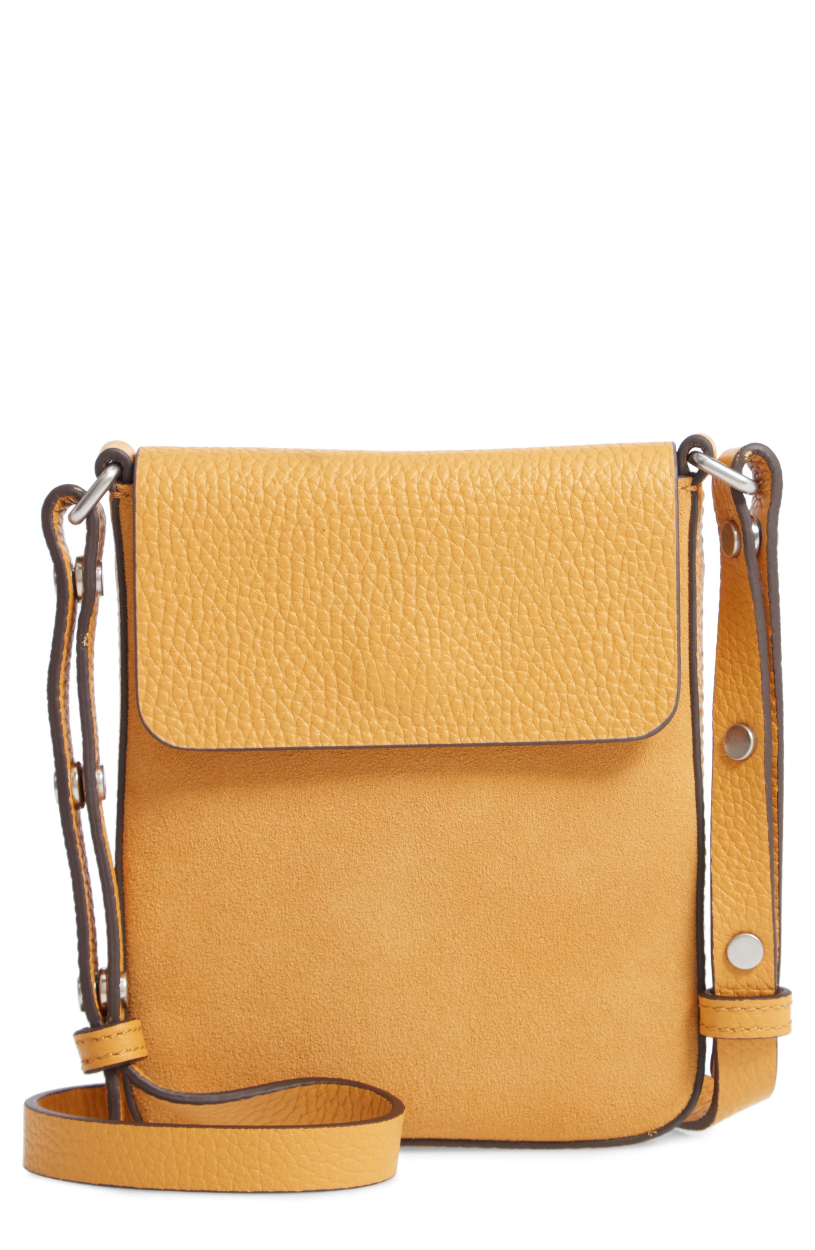 21a69572844f Treasure & Bond Madison Leather Crossbody Bag - Lyst