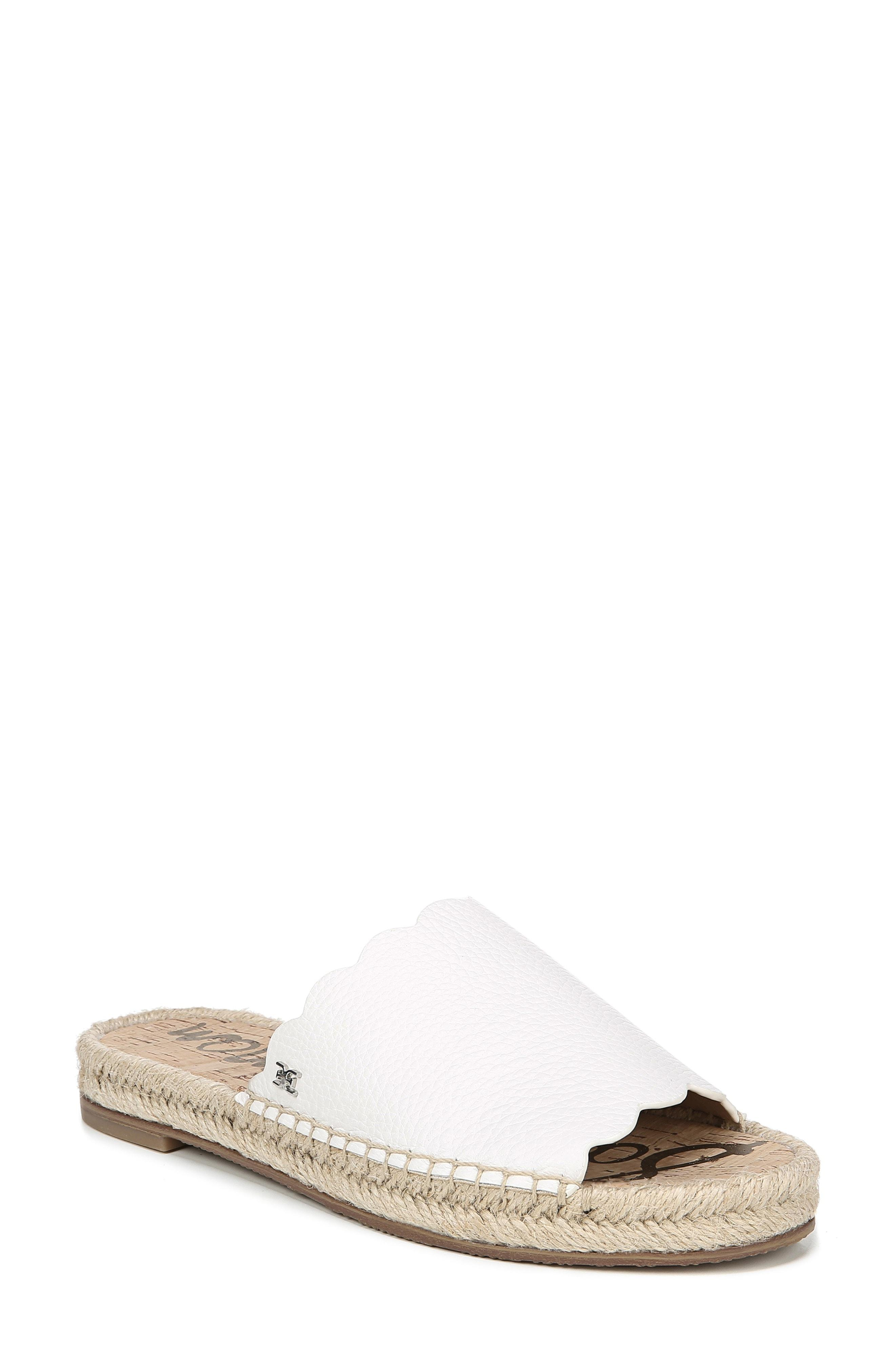 aae507443e2 Lyst - Sam Edelman Andy Slide Sandal in White