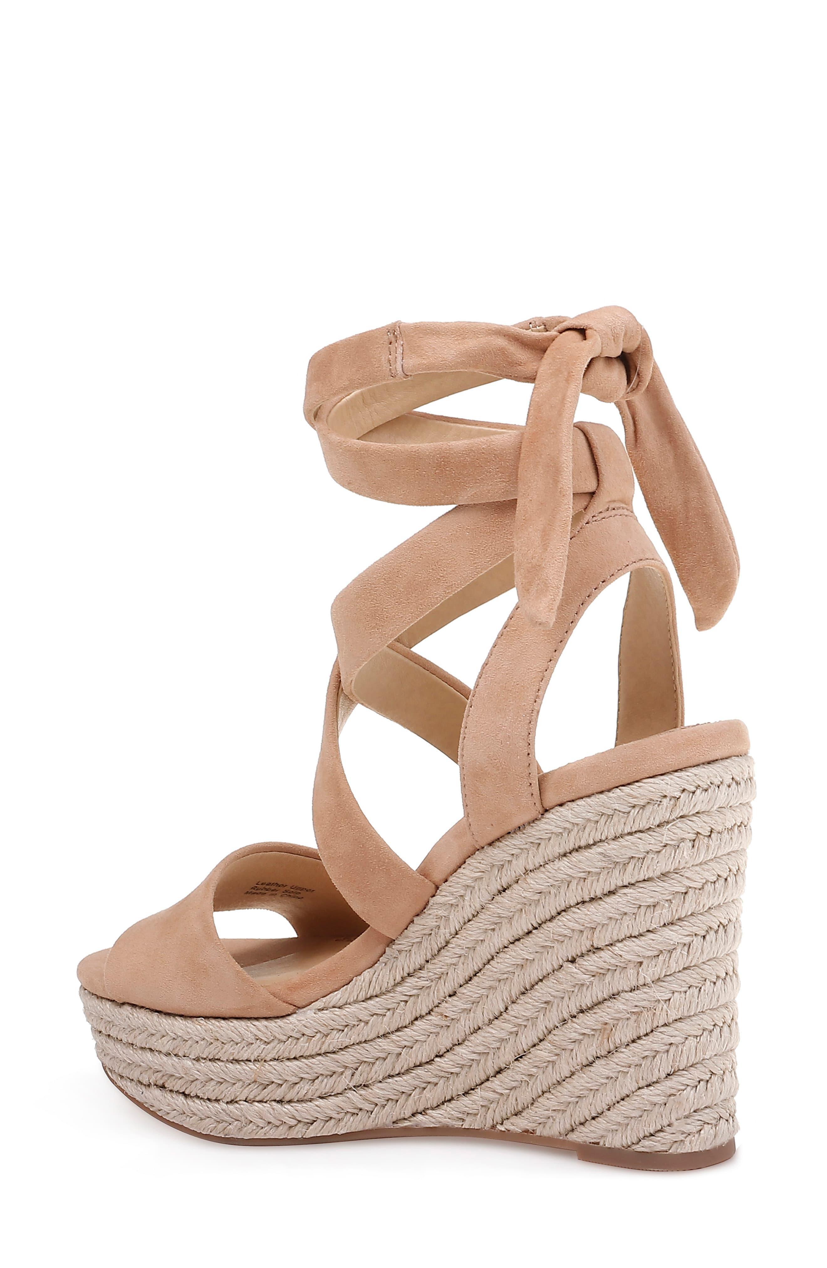 c7dd80ccc0b Brown Women's Tessie Ankle - Tie Wedge Sandals