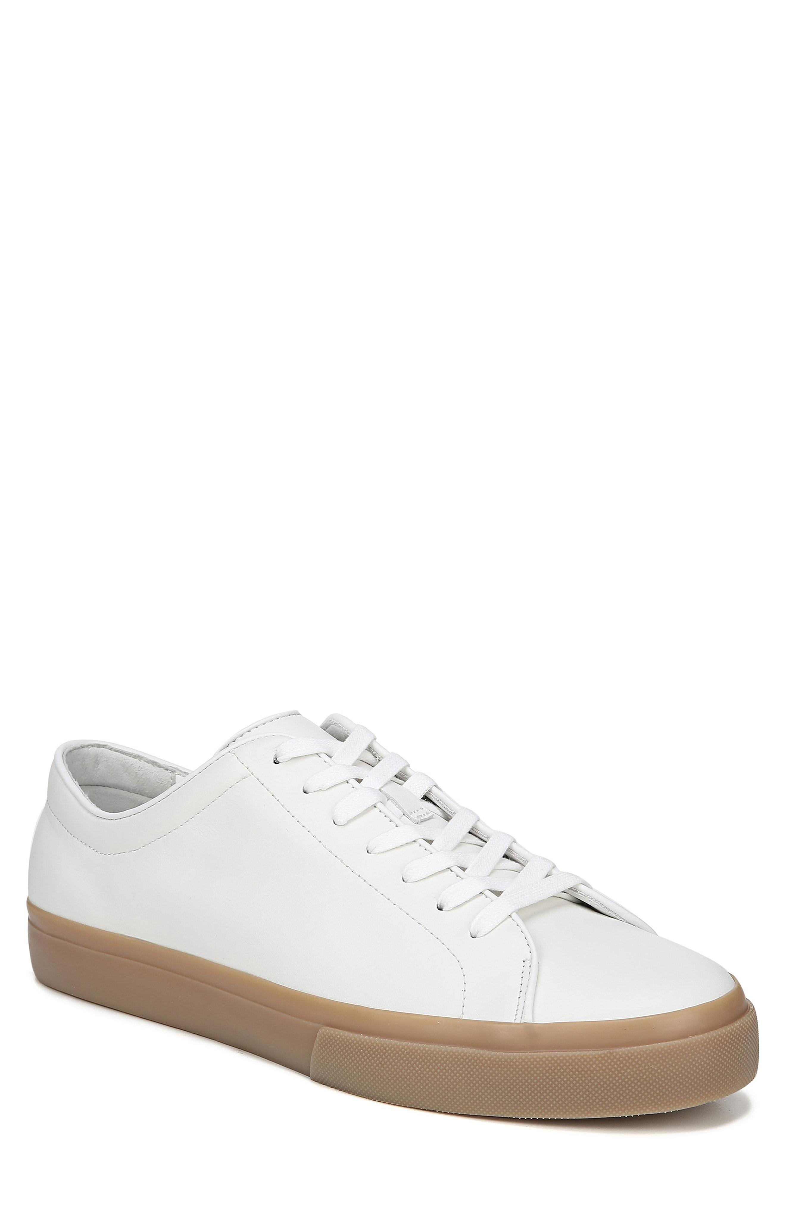 3ff5701a978959 Lyst - Vince Men s Farrell Low-top Leather Sneakers in White for Men