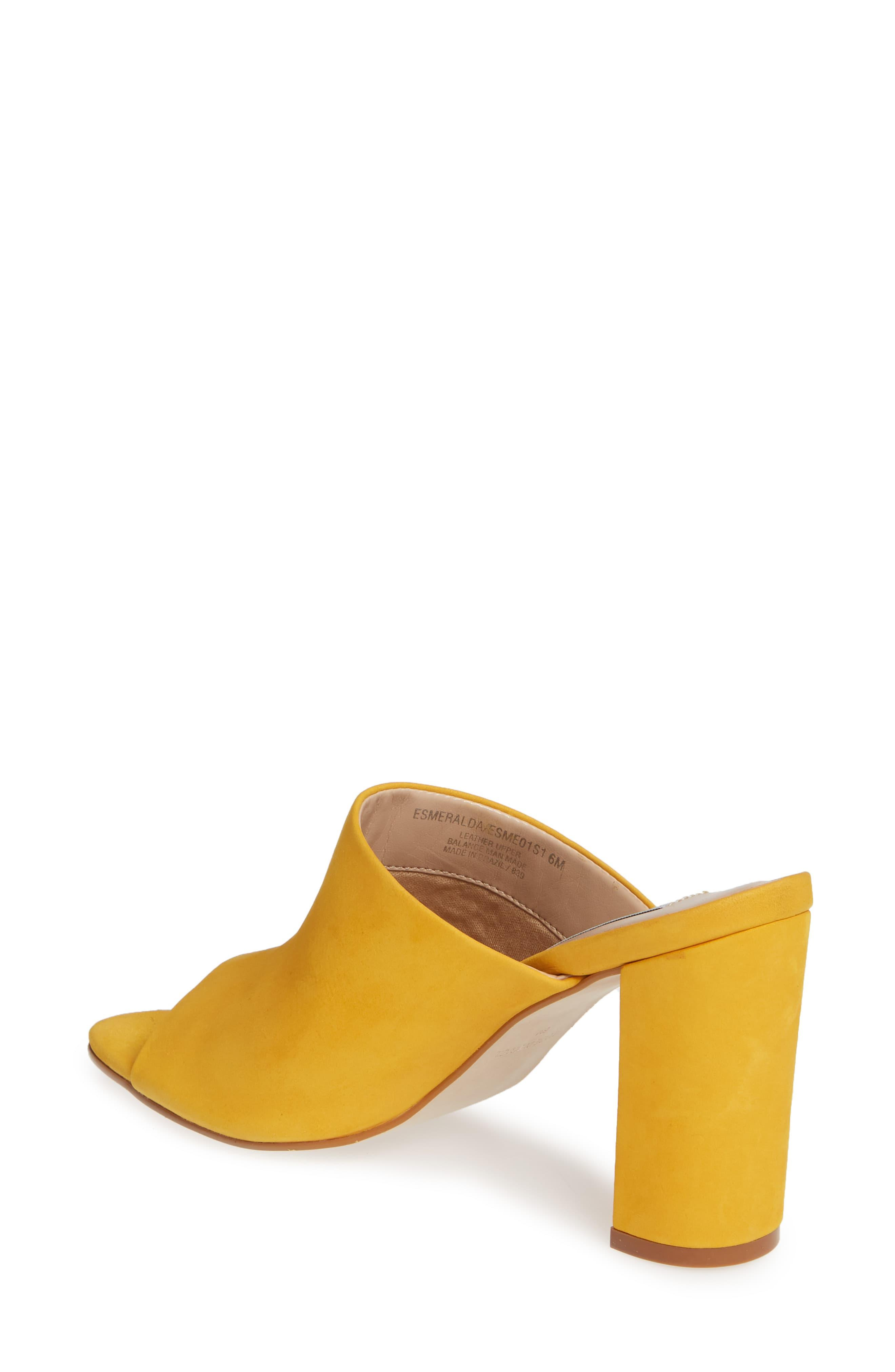 04c92d6d1f8 Women's Yellow Esmeralda Slide Sandal