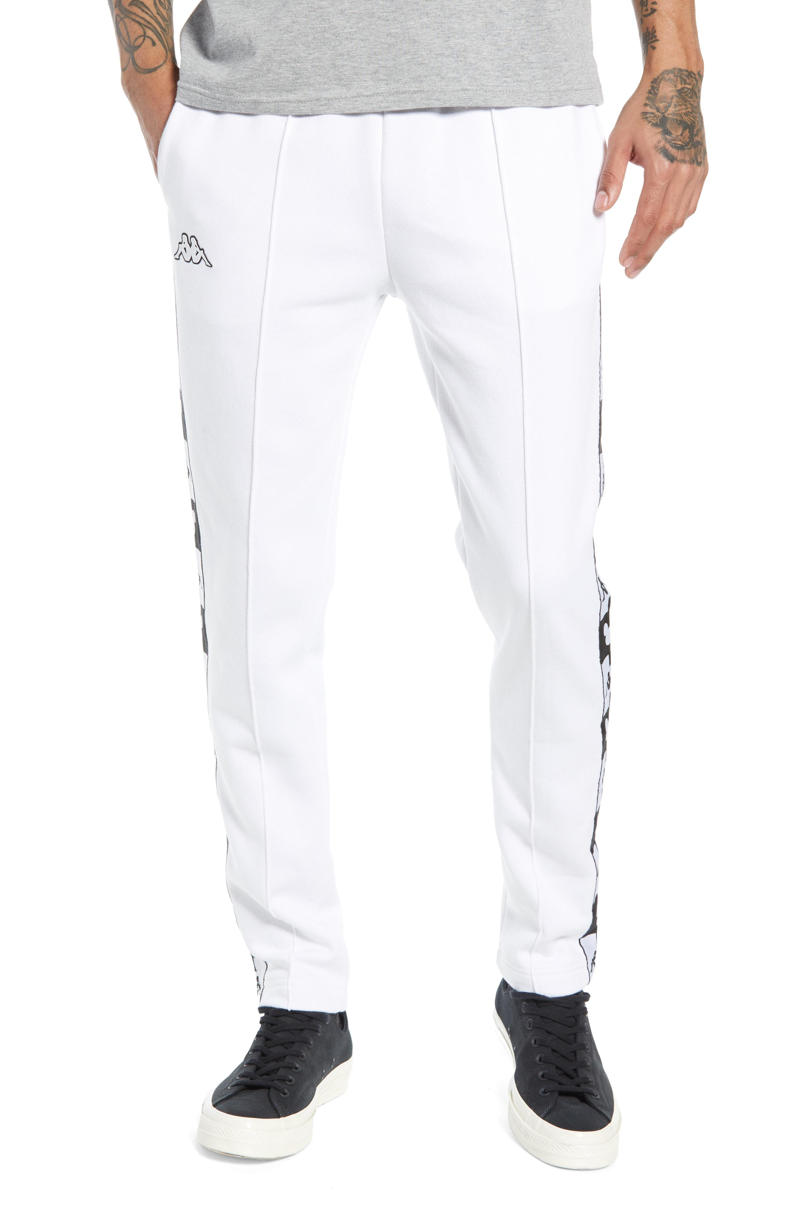 8702856f Kappa X Disney Authentic Alphonso Slim Fit Track Pants in White for ...