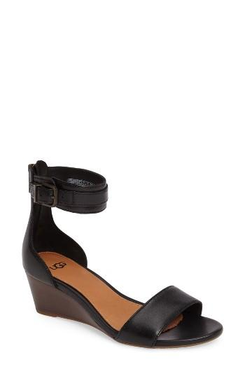 9cea4c879b4 Ugg Char Leather Wedge Sandals - cheap watches mgc-gas.com