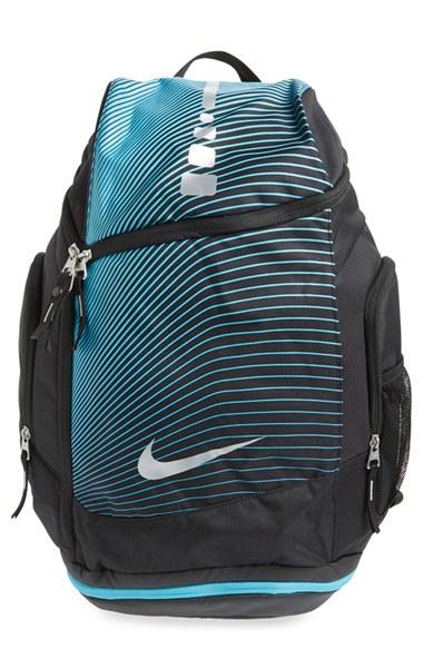 nike hoops elite max air backpack in blue for men lyst