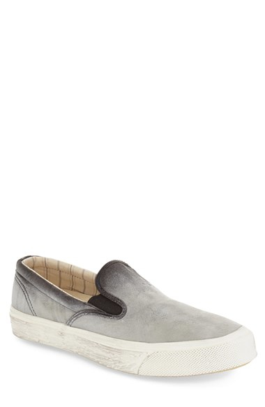 83bbe9369f6e Lyst - Converse Deck Star 67 Leather Slip-Ons in Natural
