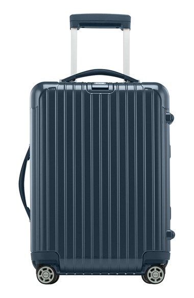 Rimowa 39 salsa deluxe cabin 39 multiwheel carry on in blue lyst for Salsa deluxe cabin multiwheel