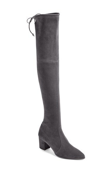 stuart weitzman thighland the knee boot in gray lyst