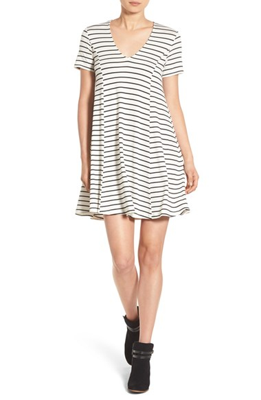 Lyst Lush Stripe T Shirt Dress
