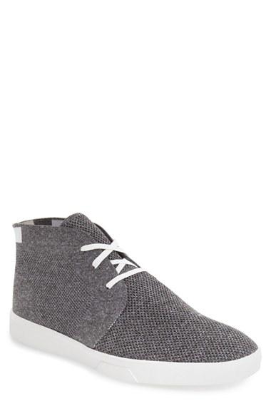 calvin klein 39 indio 39 sneaker in gray for men lyst. Black Bedroom Furniture Sets. Home Design Ideas