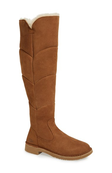 fb0161b0d7f Women's Brown Sibley Over-The-Knee Suede Boots