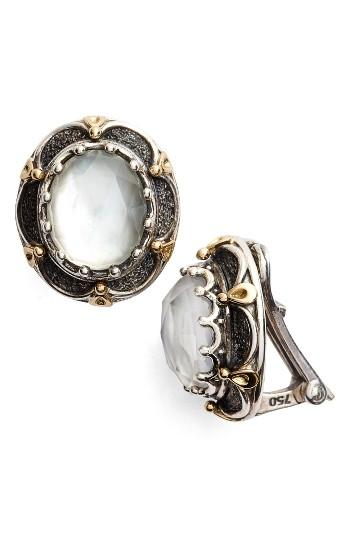 nordstrom clip on earrings konstantino semiprecious clip earrings in metallic 7693