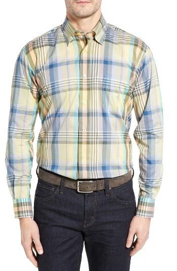 Robert talbott anderson classic fit plaid sport shirt for for Robert talbott shirts sale
