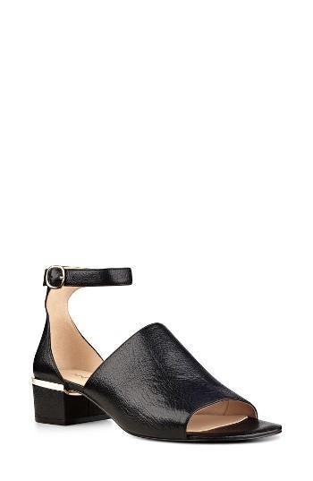 Nine West Yorada Ankle Strap Sandal In Black Lyst