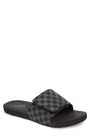 Vans Nexpa Slide Sandal in Black