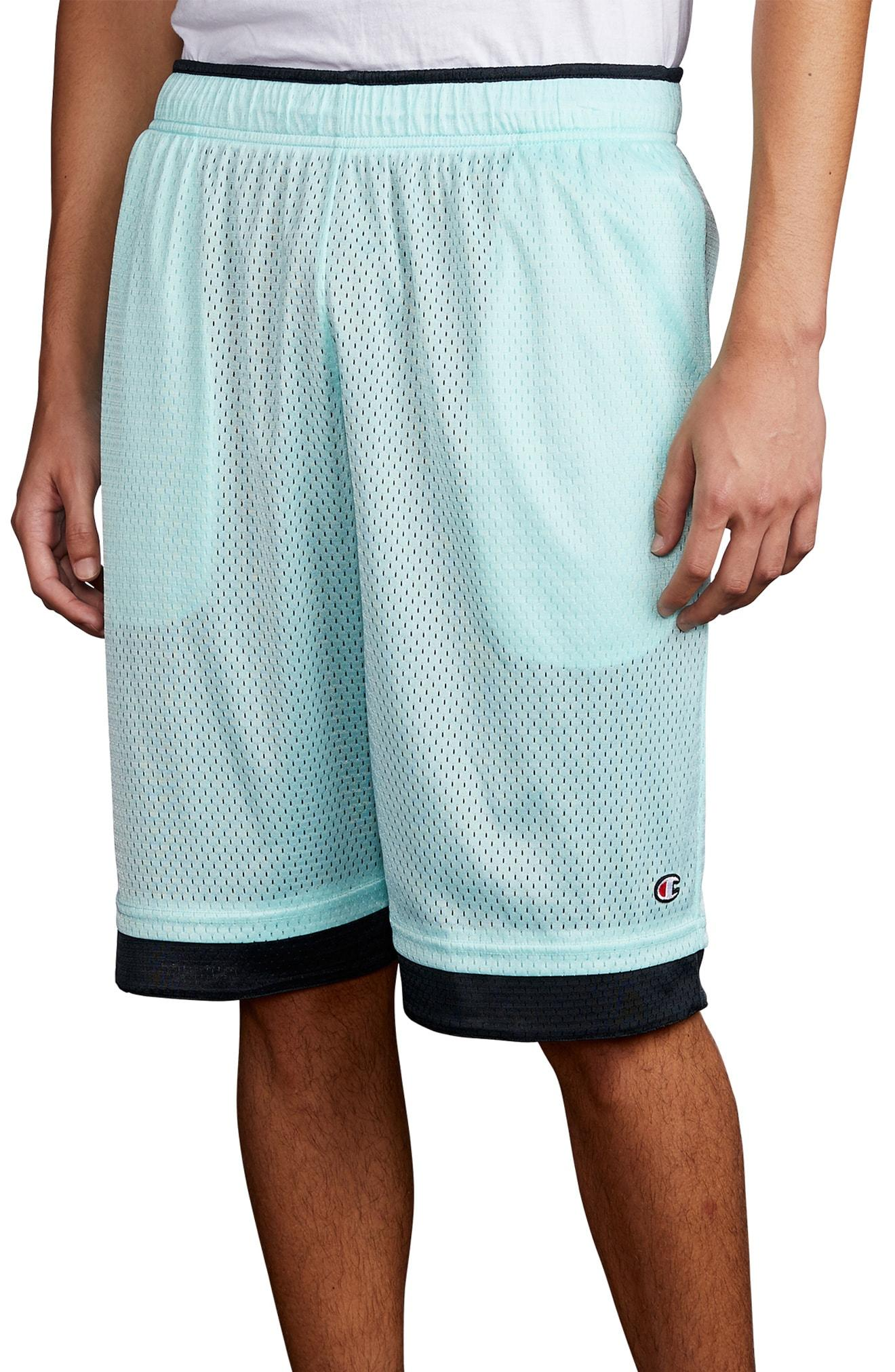 721fc89a51bb Lyst - Champion Reversible Mesh Athletic Shorts in Blue for Men