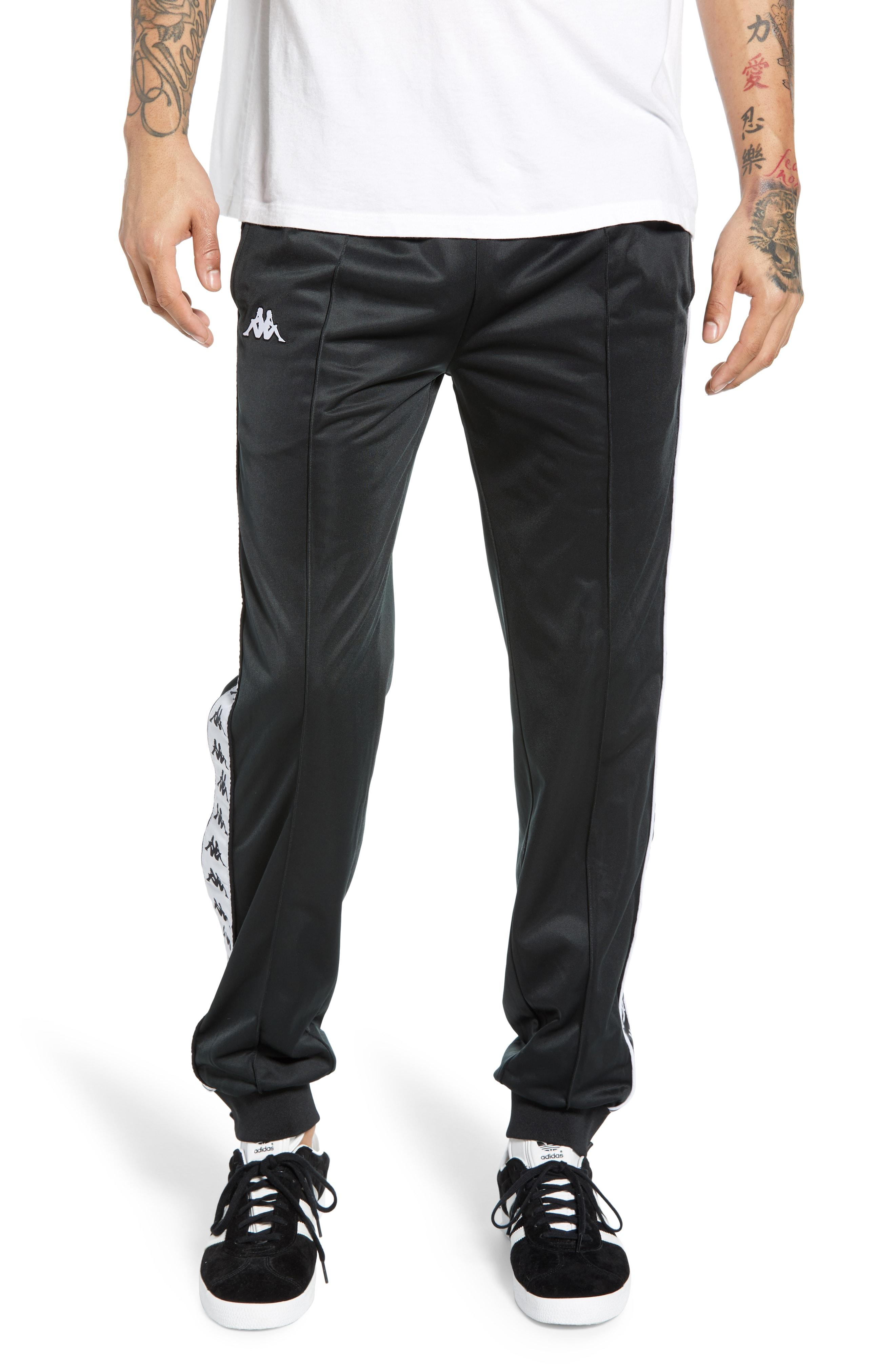 aa4b0707d1 Lyst - Kappa 222 Banda Rastoriazz Slim Fit Track Pants in Black for Men