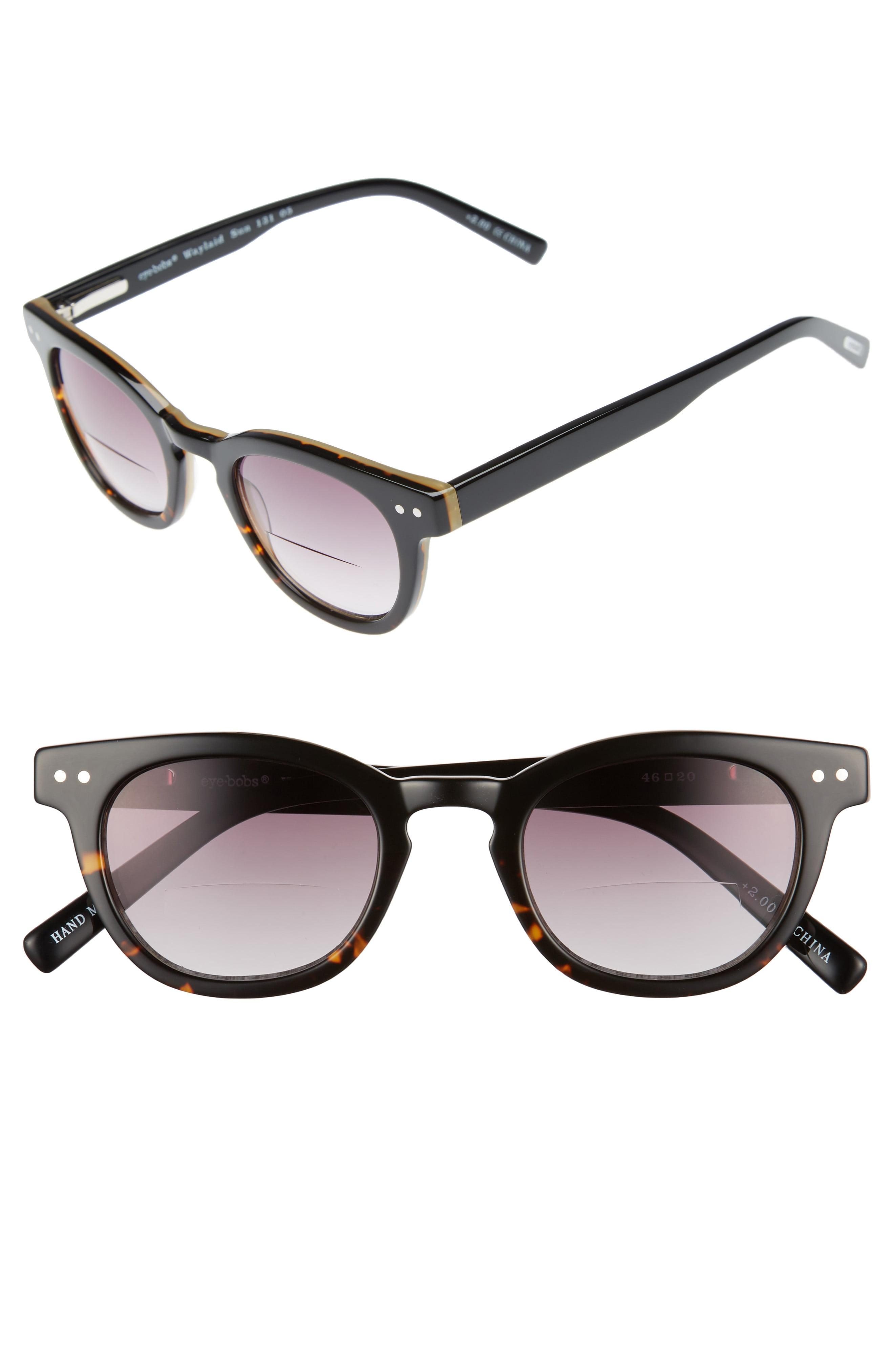dd47bff2cca8 Lyst - Eyebobs Laid 46mm Reading Sunglasses - in Brown for Men