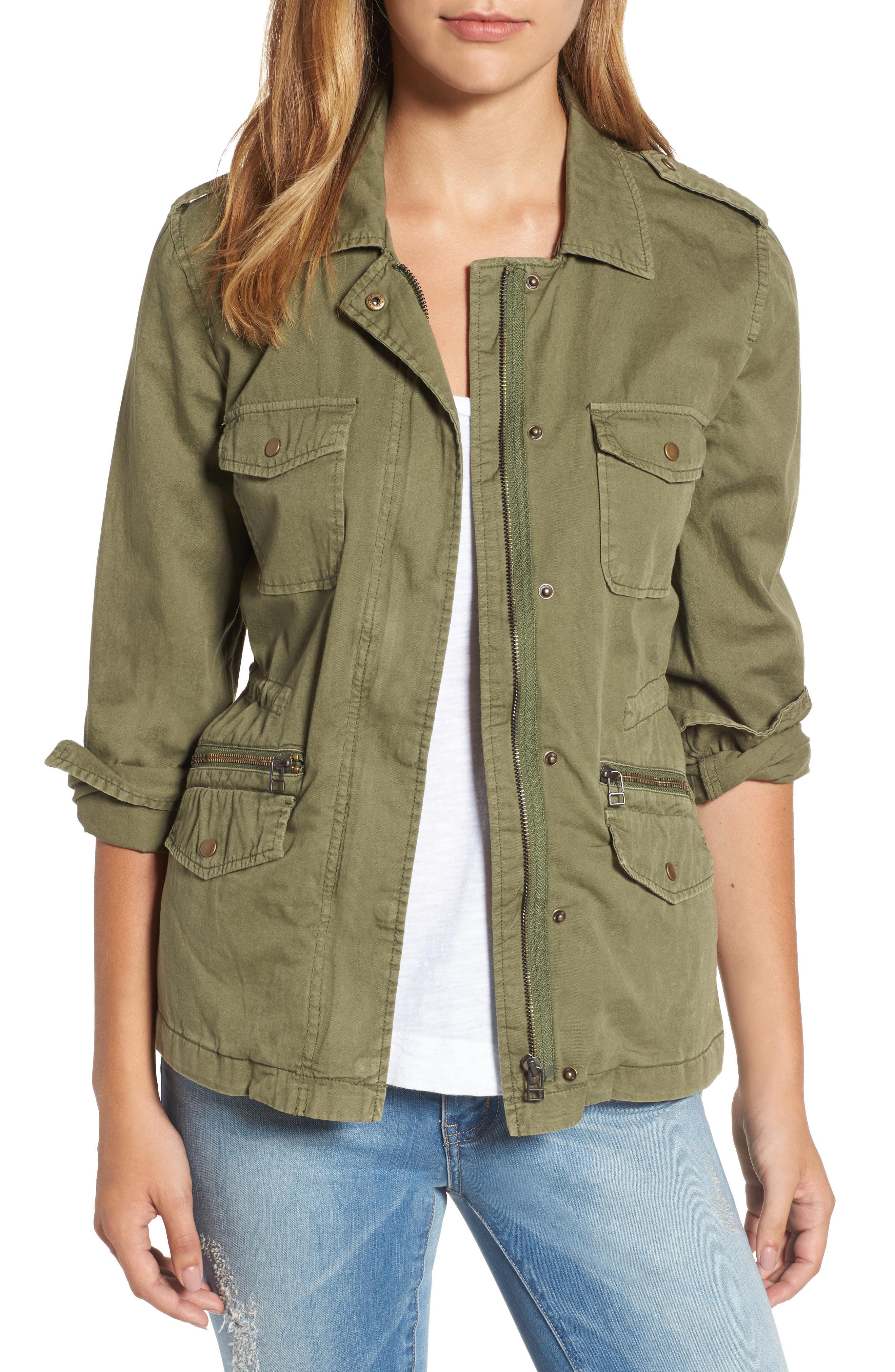 ab21635231c Velvet By Graham   Spencer. Women s Green Lily Aldridge For Army Jacket