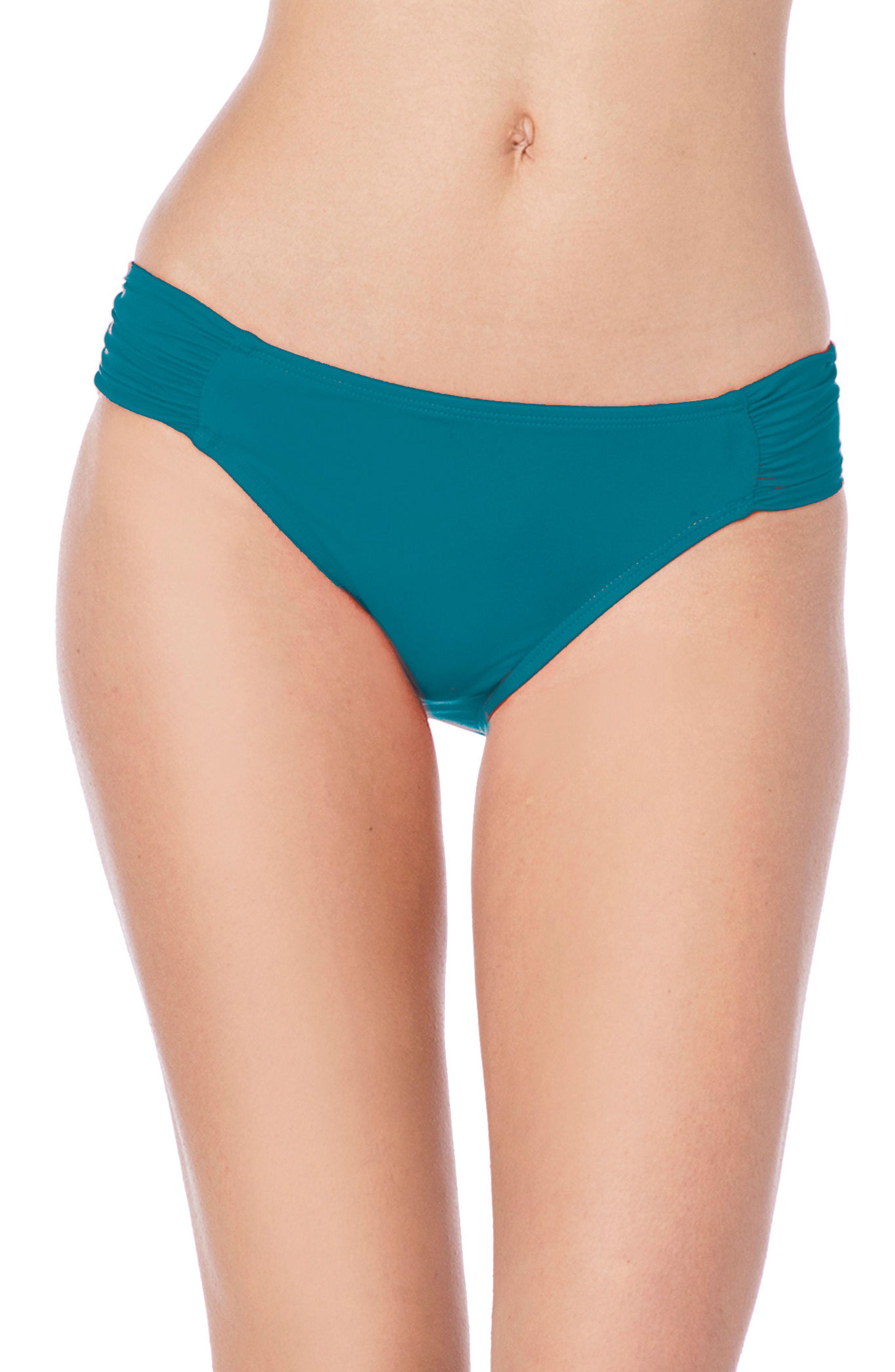 9d34eb7a08 Lyst - La Blanca Island Goddess Hipster Bikini Bottoms in Blue