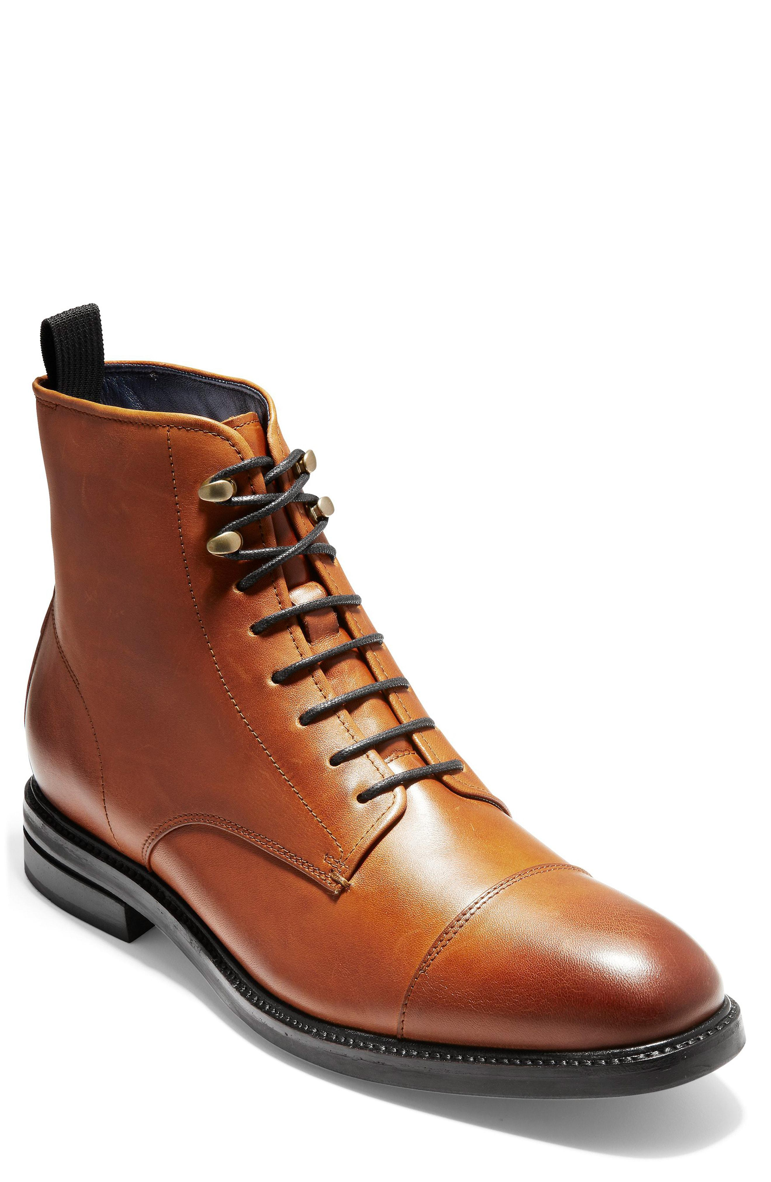 Wagner Grand Cap Toe Boots - Brown