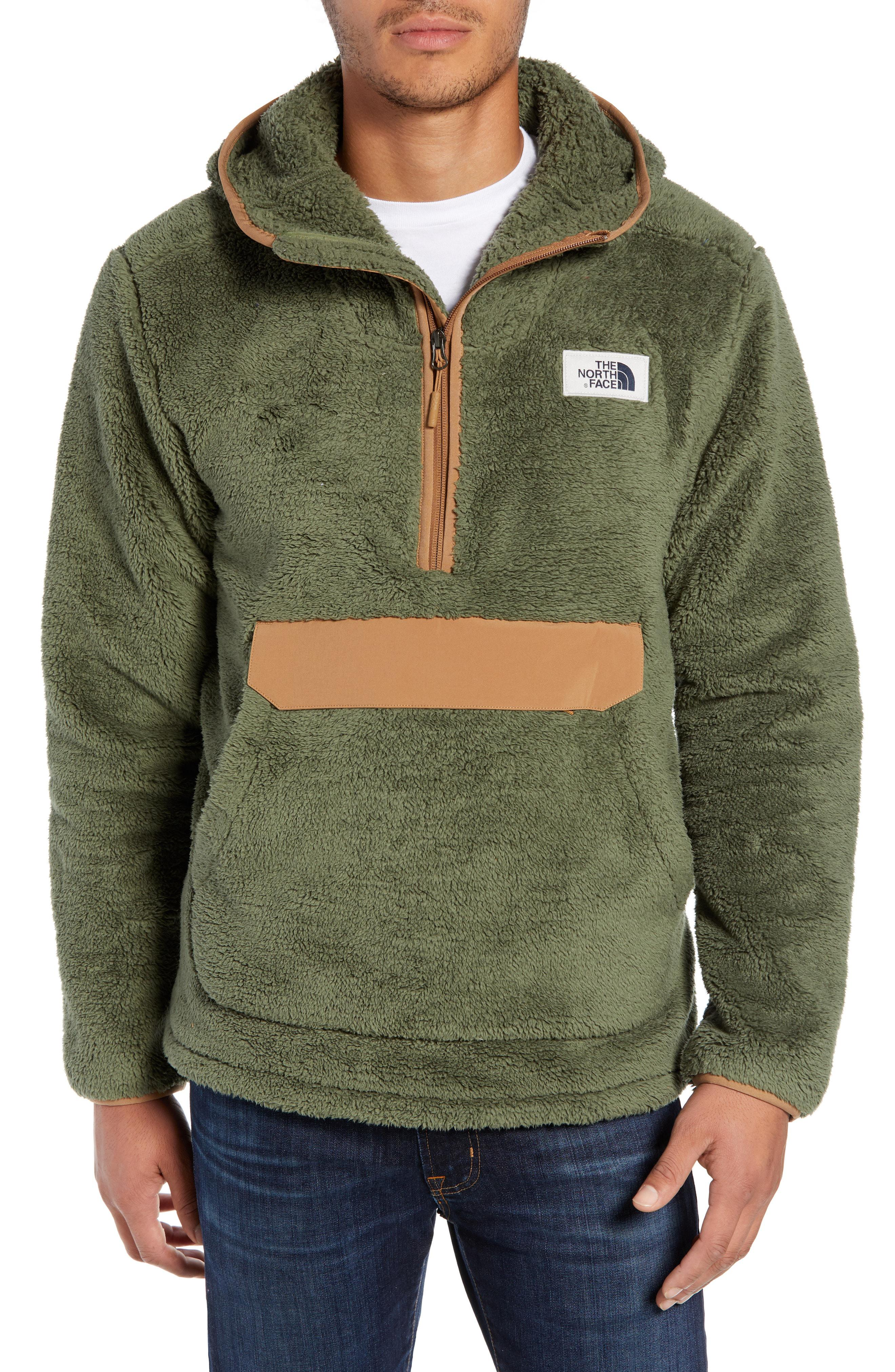 d08589fd12 Lyst - The North Face Campshire Anorak Fleece Jacket in Blue for Men
