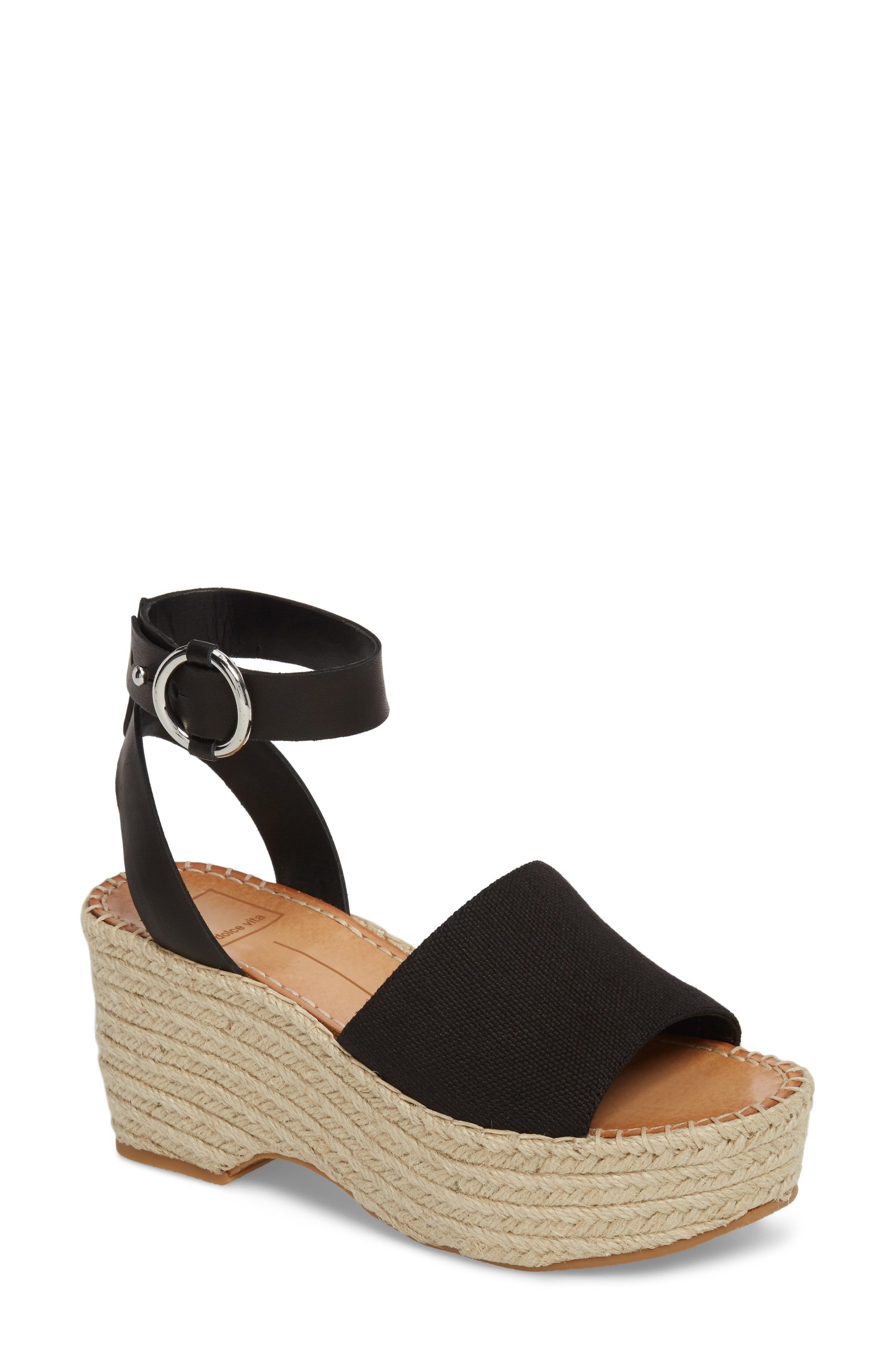 8ff378e5cef Lyst - Dolce Vita Lesly Espadrille Platform Sandal in White
