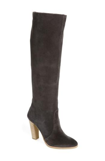2977c95e20f Dolce Vita Celine Knee-high Boot in Gray - Lyst