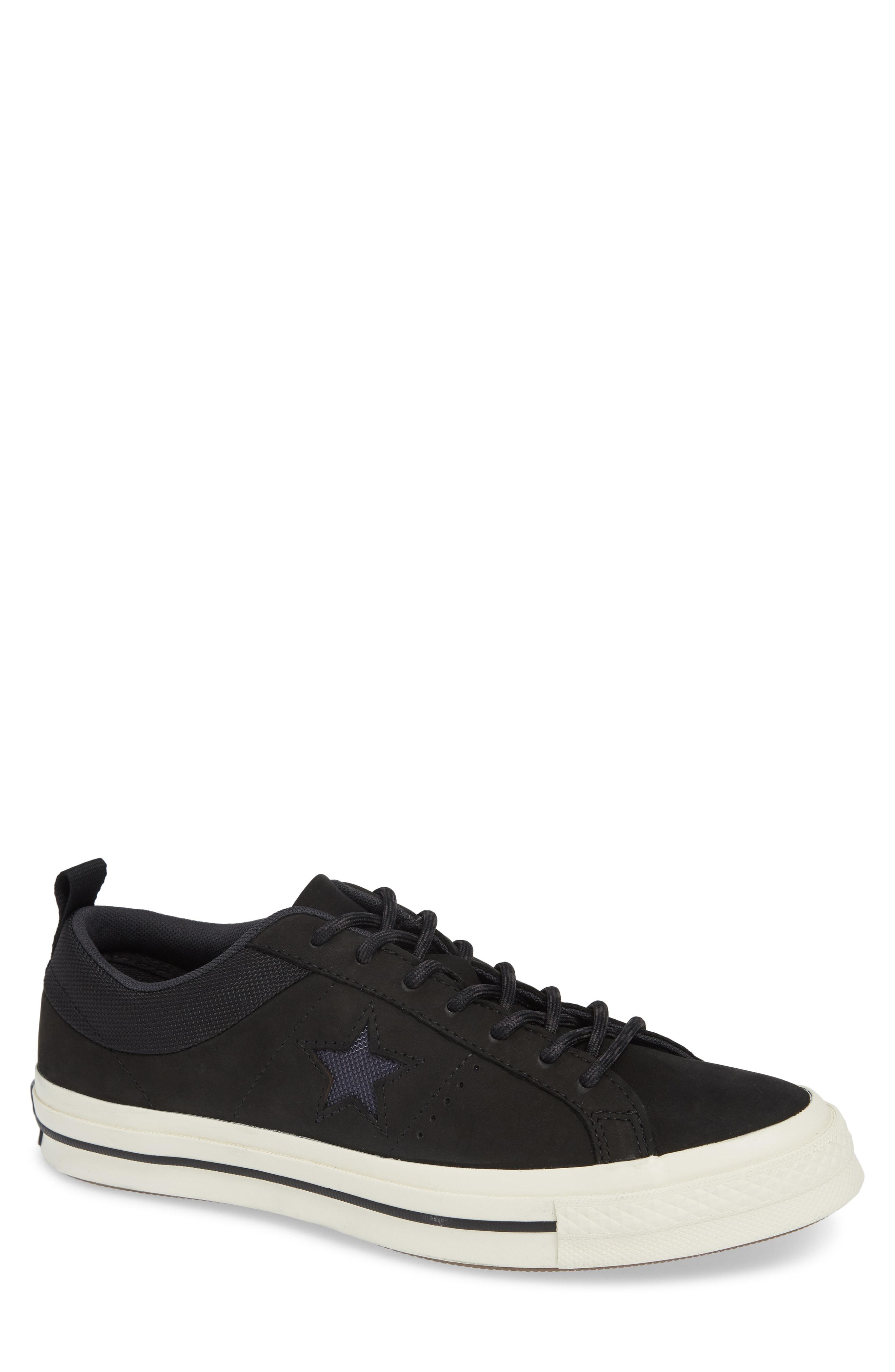 d789109da9b8c7 Lyst - Converse One Star Sierra Ox Sneaker in Black for Men
