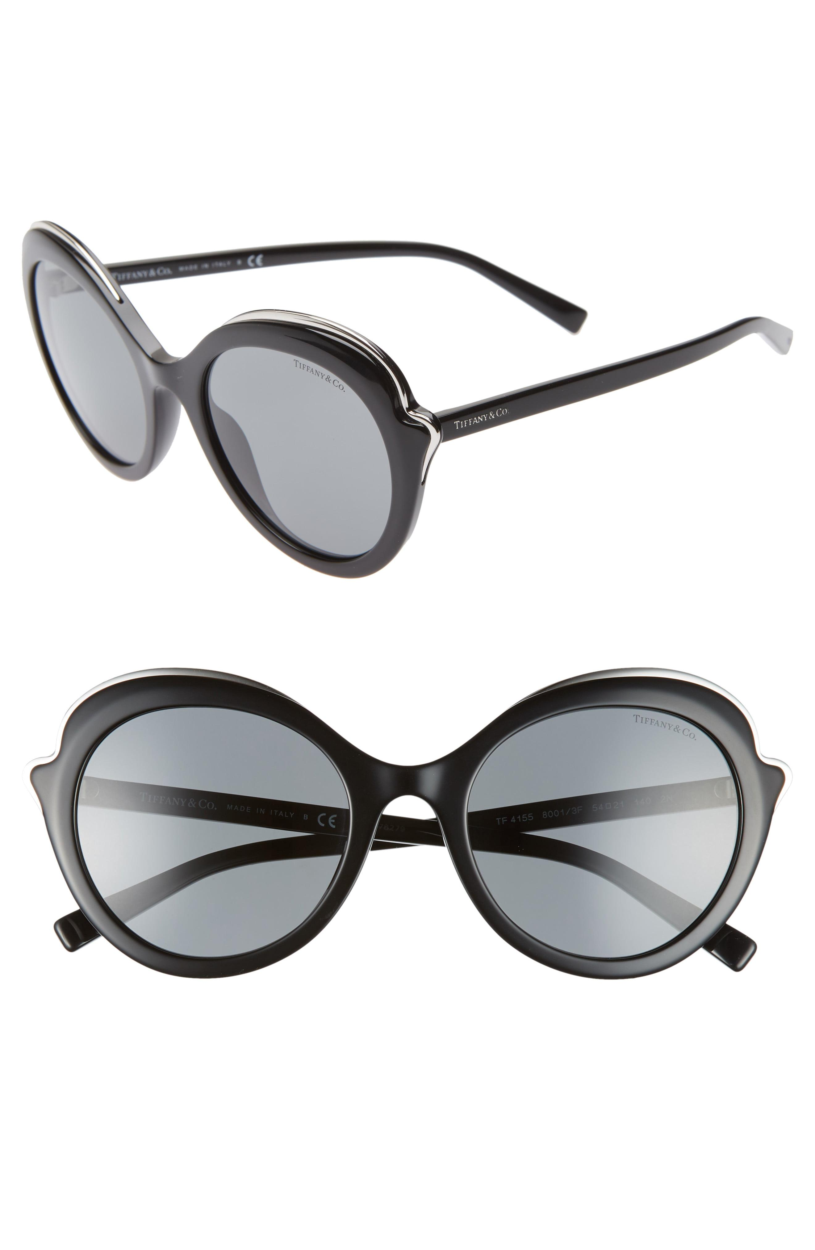 9dc0a9831c88d Tiffany   Co. Paper Flowers 54mm Round Sunglasses - Lyst
