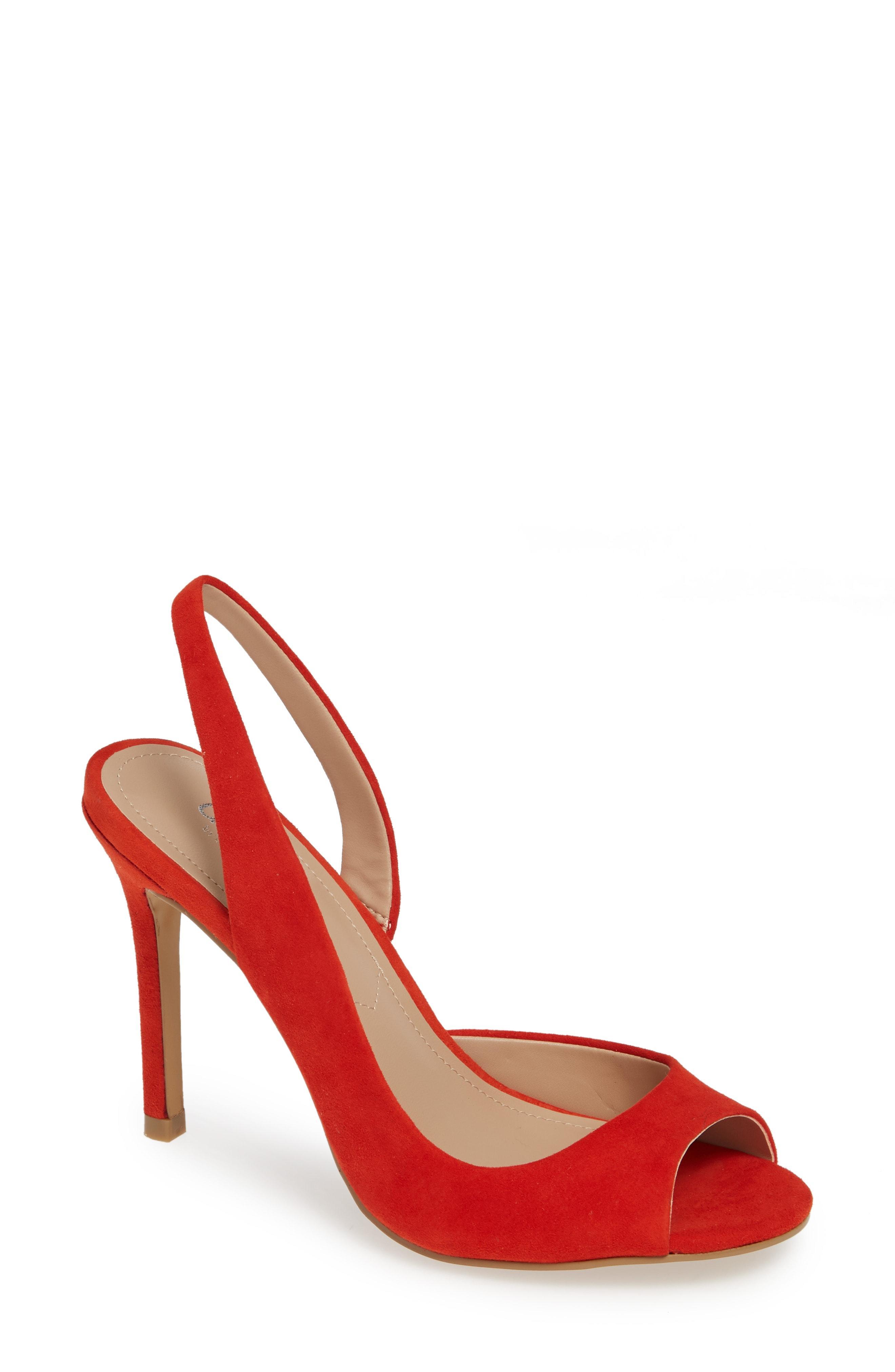 31f30a05ffd Lyst - Charles David Rexx Sandal in Red