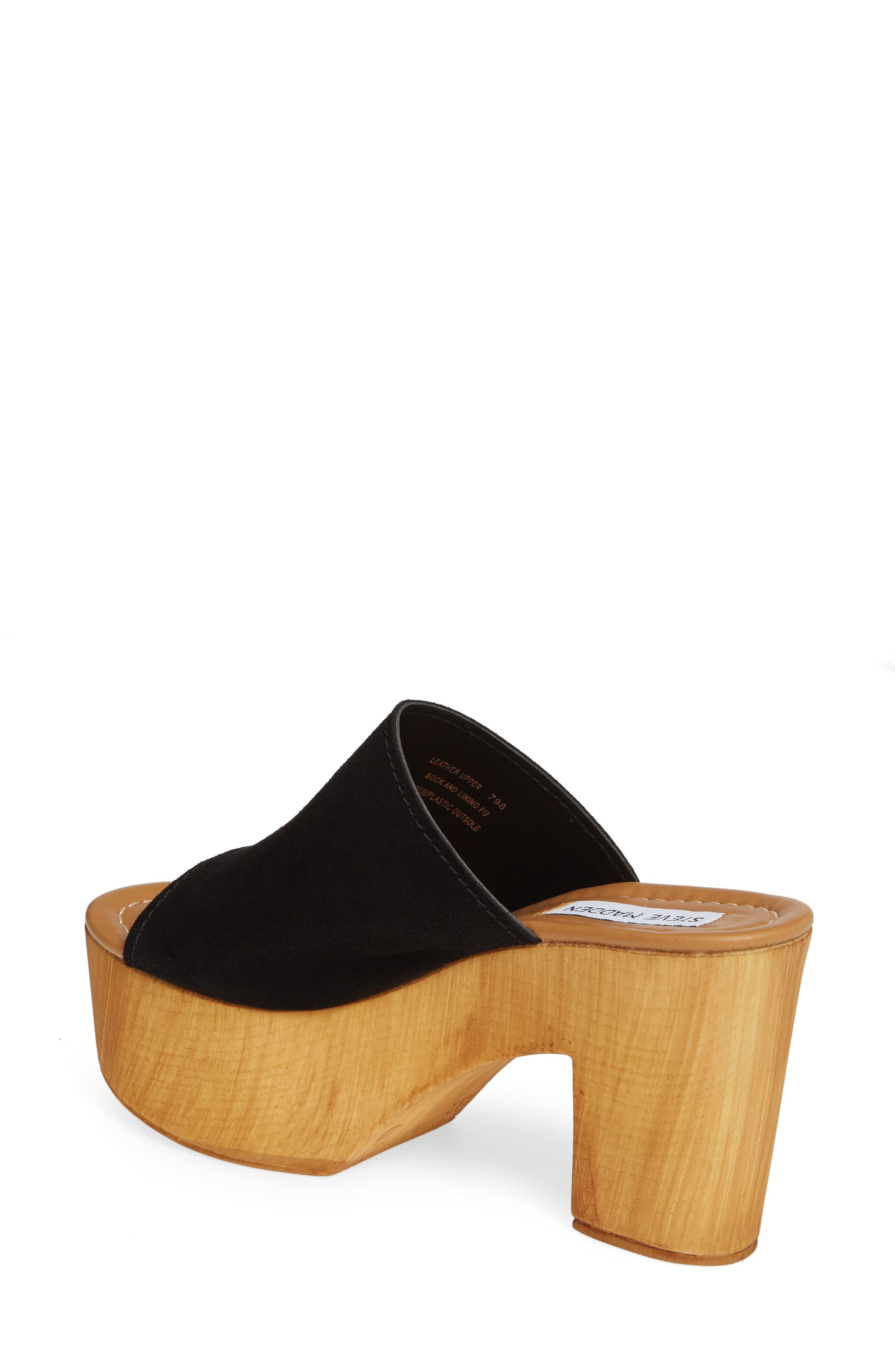 ef6e12512c1 Women's Black Playdate Platform Slide Sandal