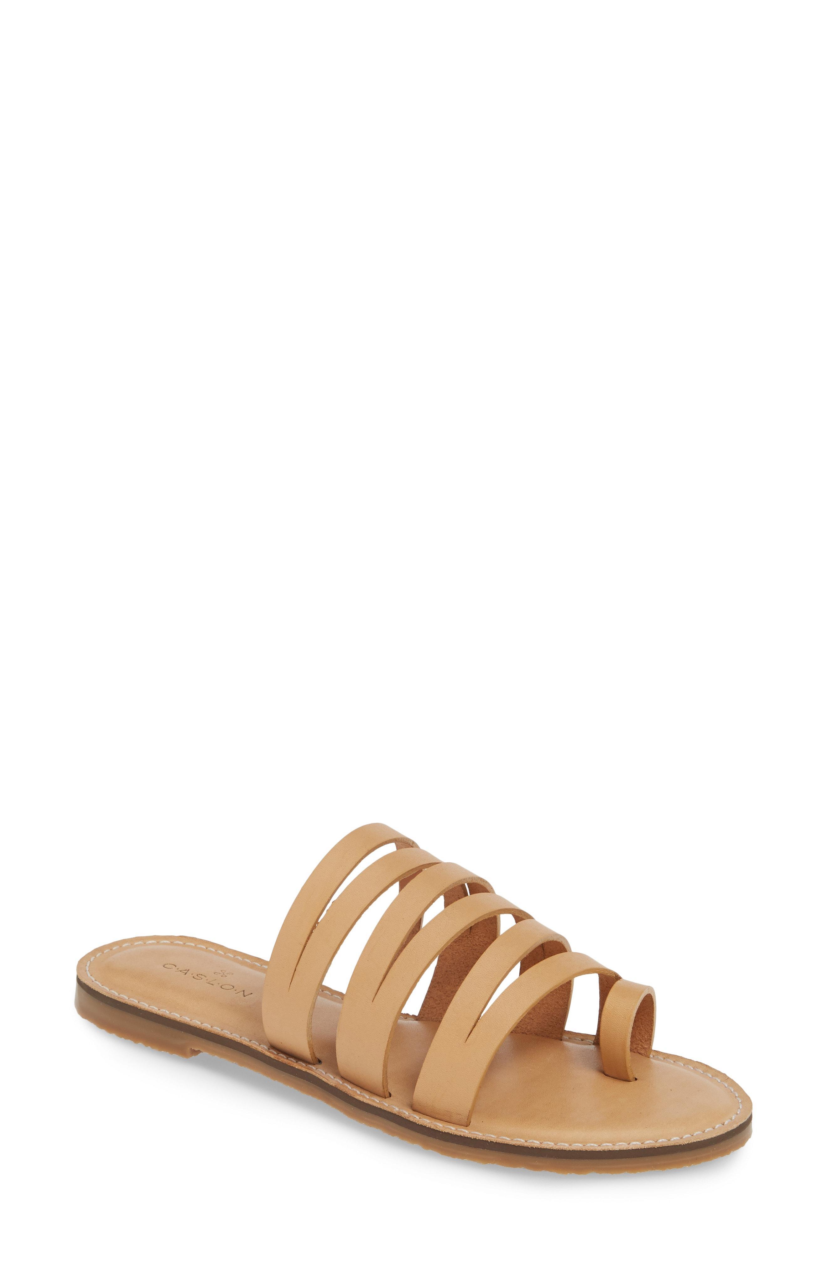 9d2641f418d Lyst - Caslon Caslon Owen Slide Sandal in Brown