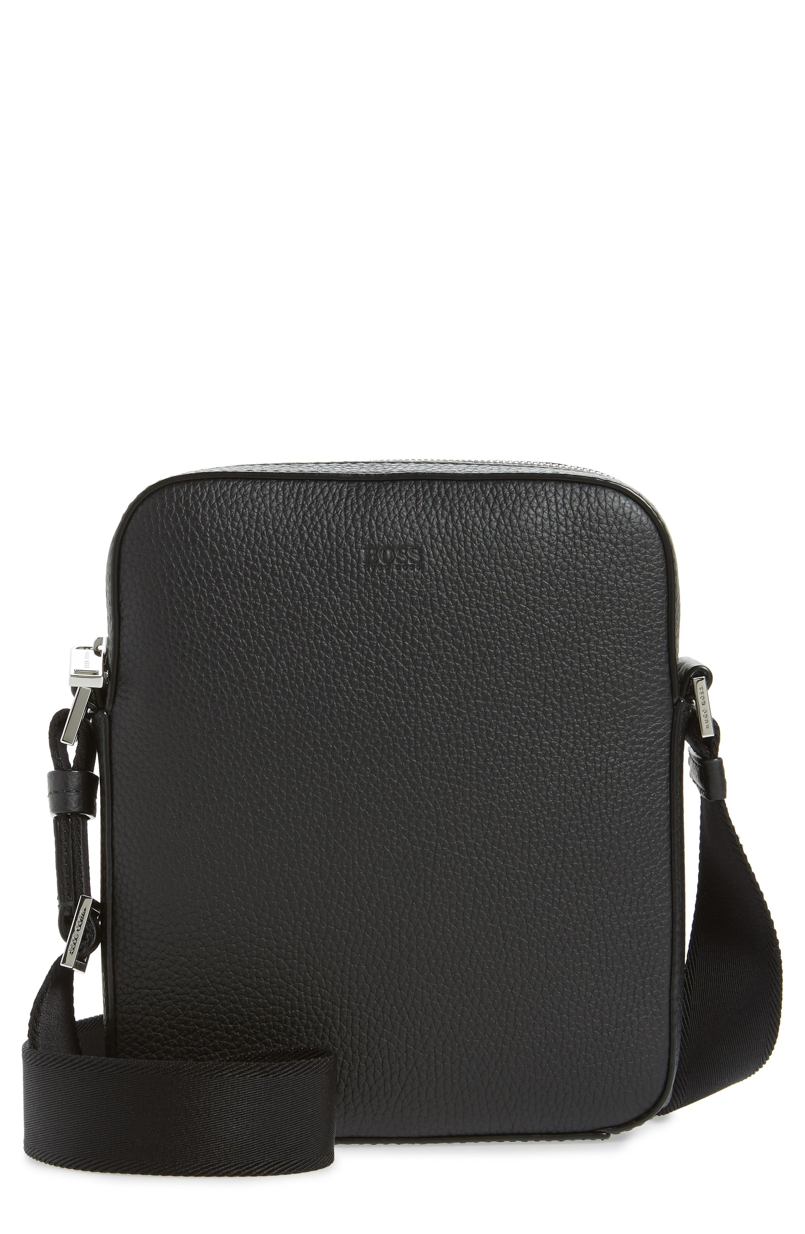 3c09f2052 Lyst - BOSS Crosstown Mini Crossbody Bag - in Black for Men