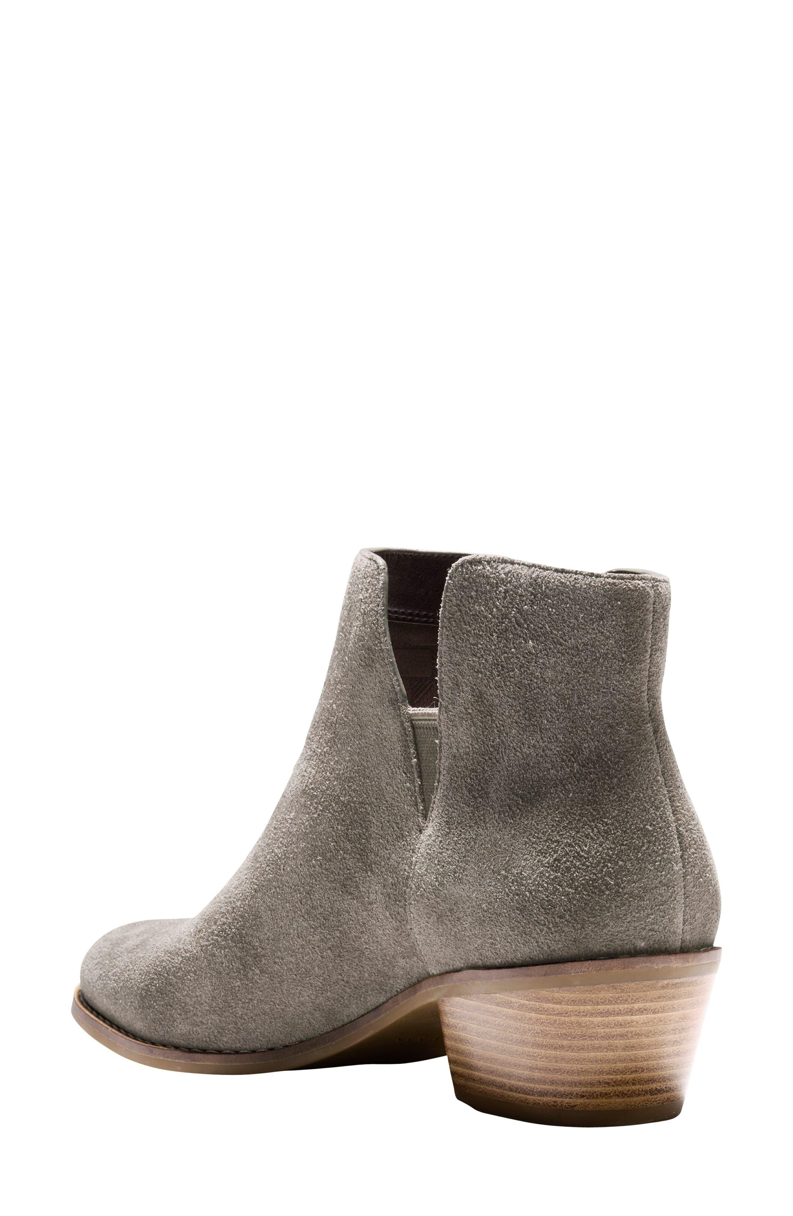 Cole Haan Leather Abbot Chelsea Boot In Gray Lyst