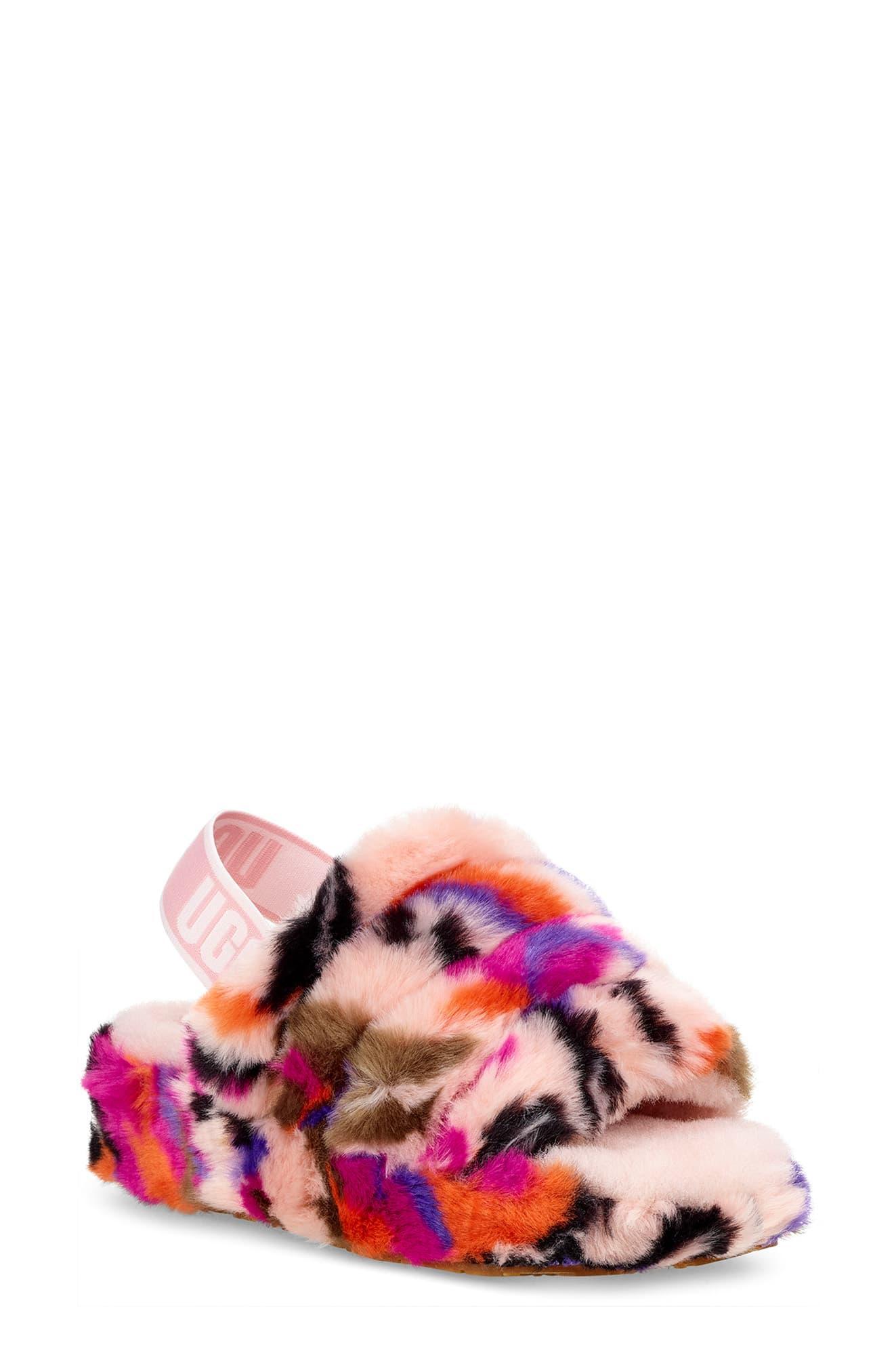 09b411c17b0 Women's Pink Fluff Yeah Slide Motlee Slides