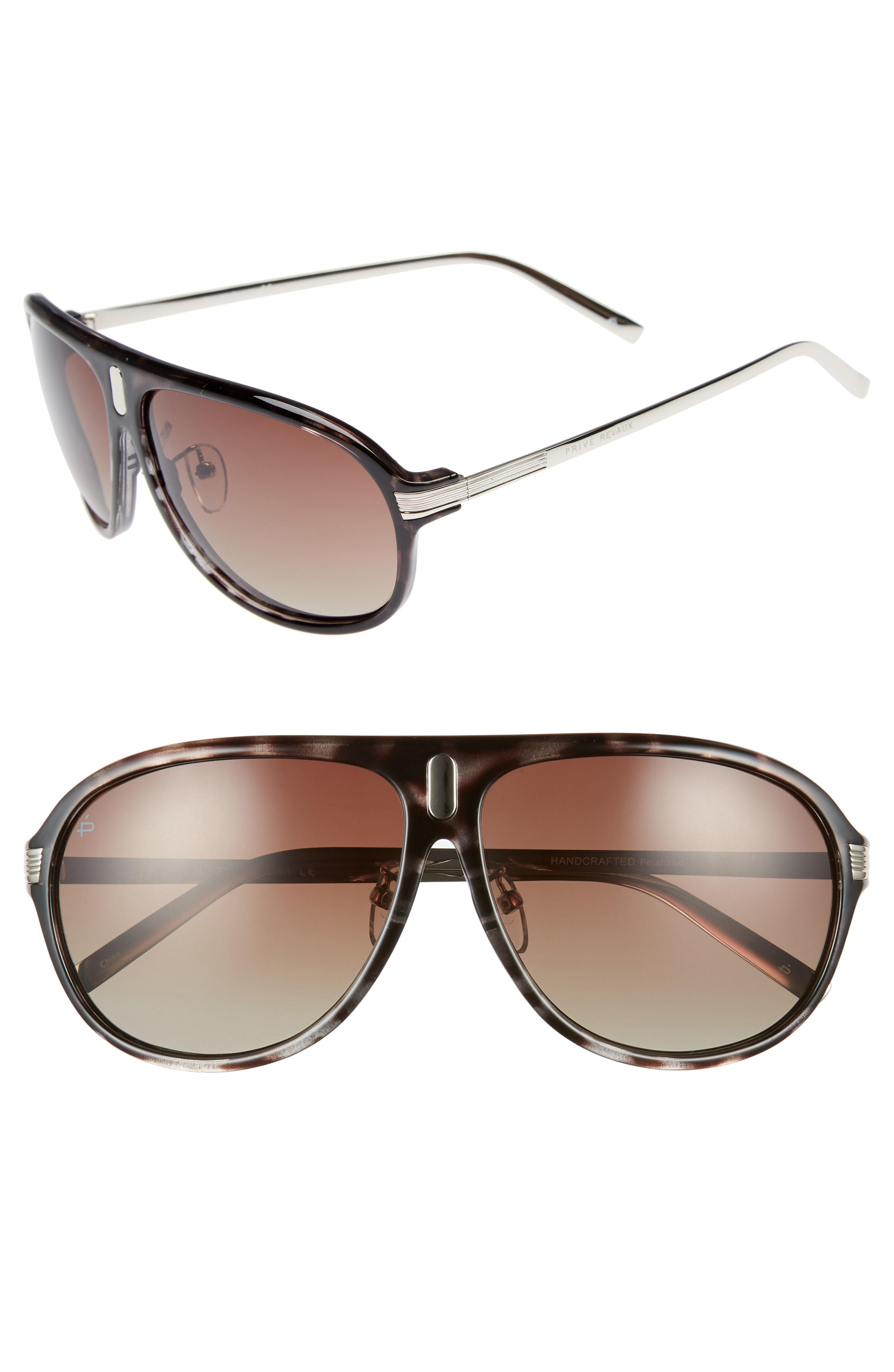 6db0384ad43ff6 Privé Revaux. Men s Gray The Mcqueen 62mm Polarized Aviator Sunglasses.  30  From Nordstrom. Free shipping ...