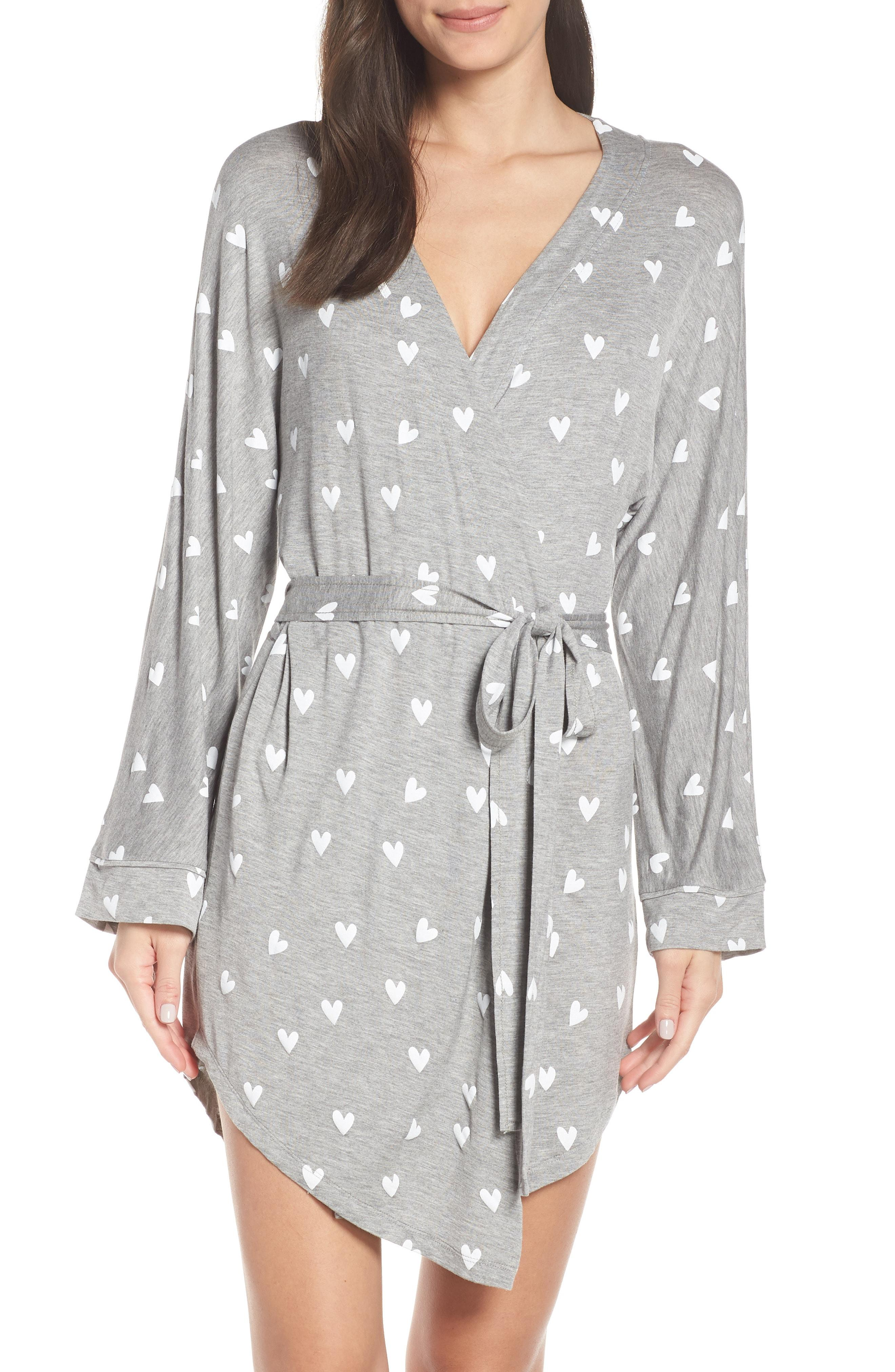 9df09a4fef Lyst - Honeydew Intimates All American Jersey Robe in Gray