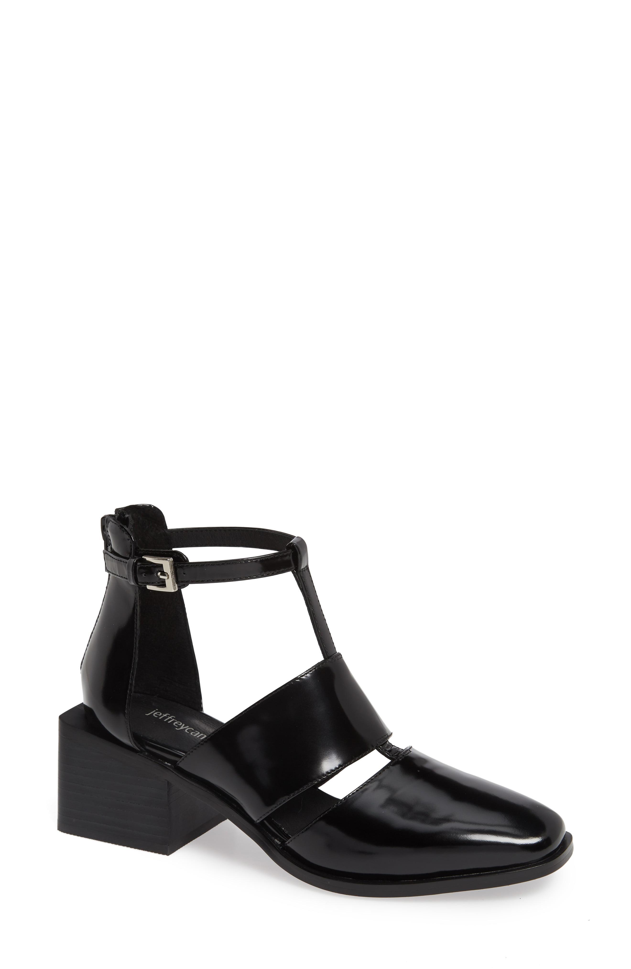 edc5b63d8f0 Lyst - Jeffrey Campbell Douglas Block Heel Pump in Black