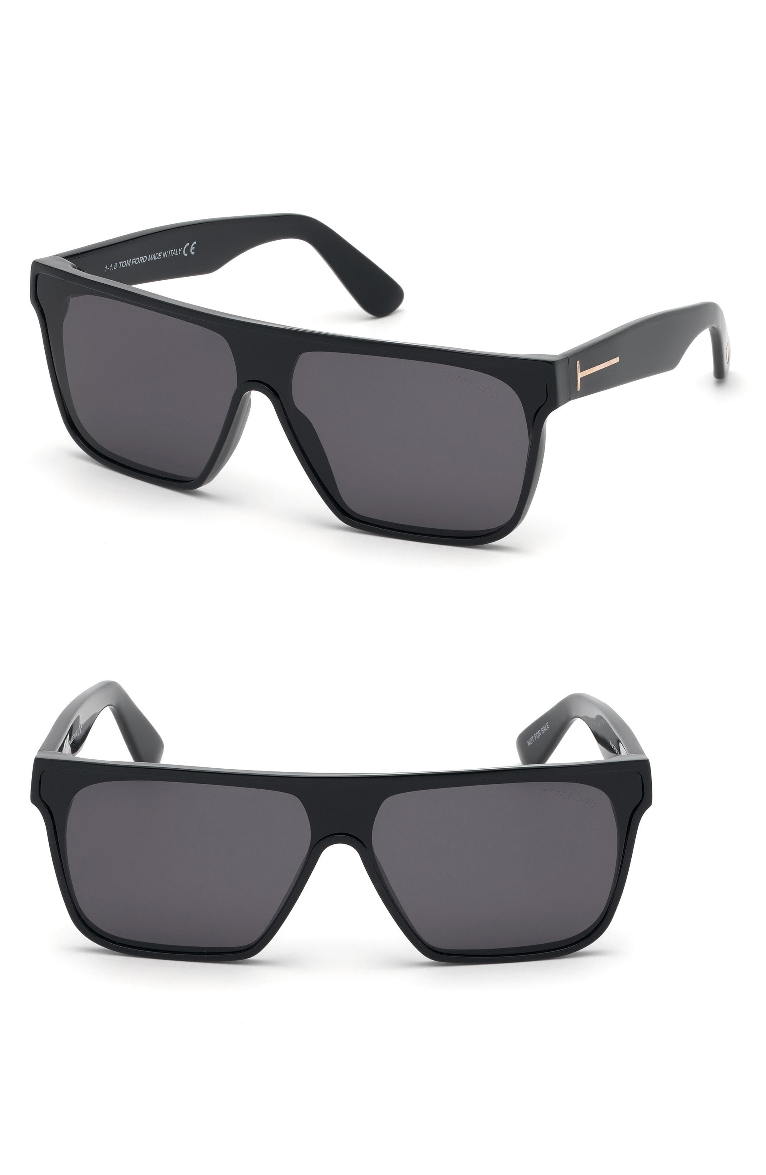 2de083091e7 Lyst - Tom Ford 140mm Shield Sunglasses - for Men