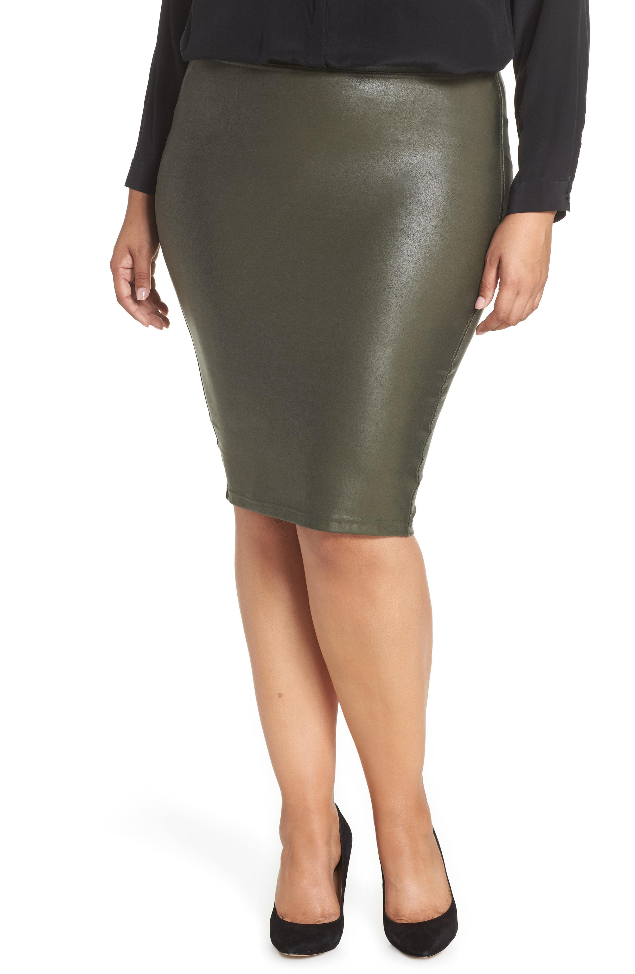 43d86adb15459 Gallery. Previously sold at: Nordstrom · Women's Dark Green Skirt ...