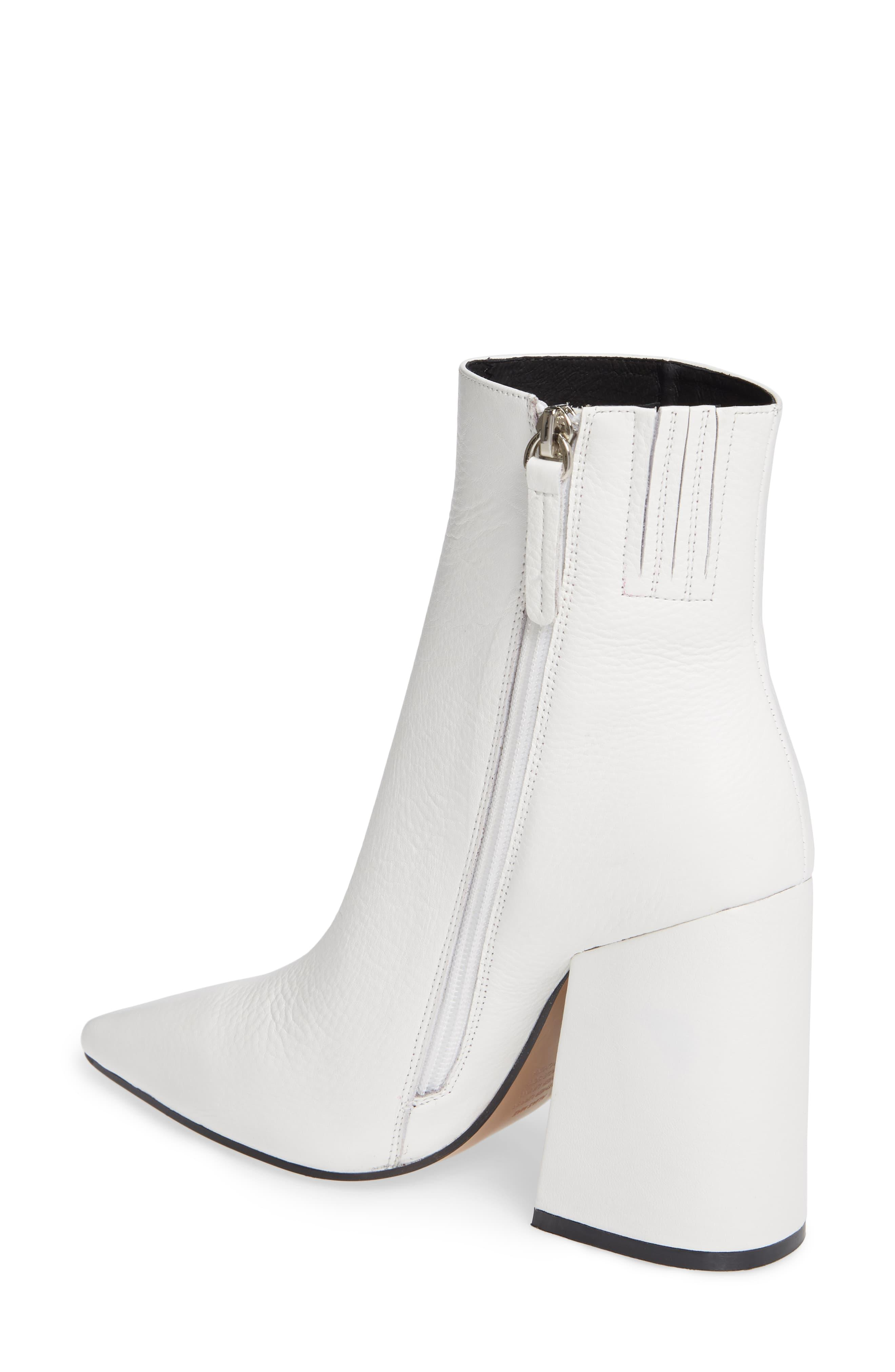 Sale OFF-59% alias mae white boots