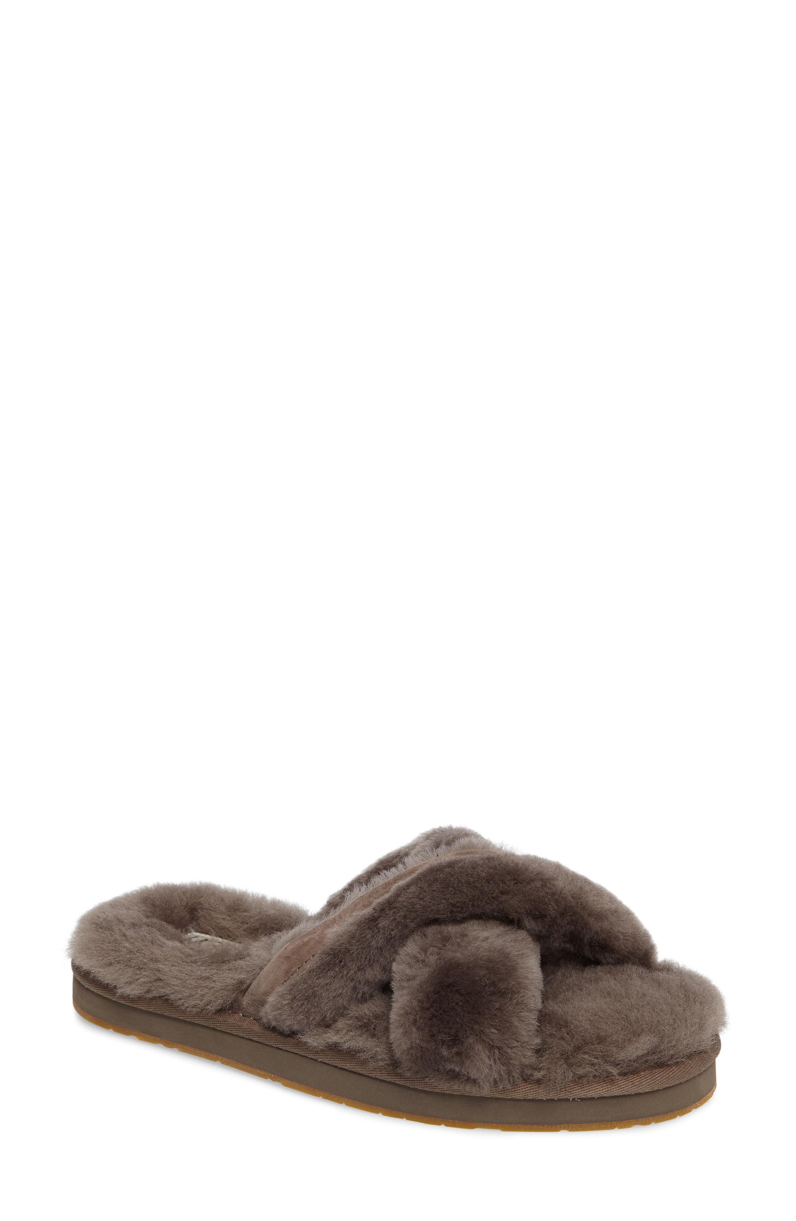35ad327a65140 UGG. Women s Ugg Abela Genuine Shearling Flip Flop