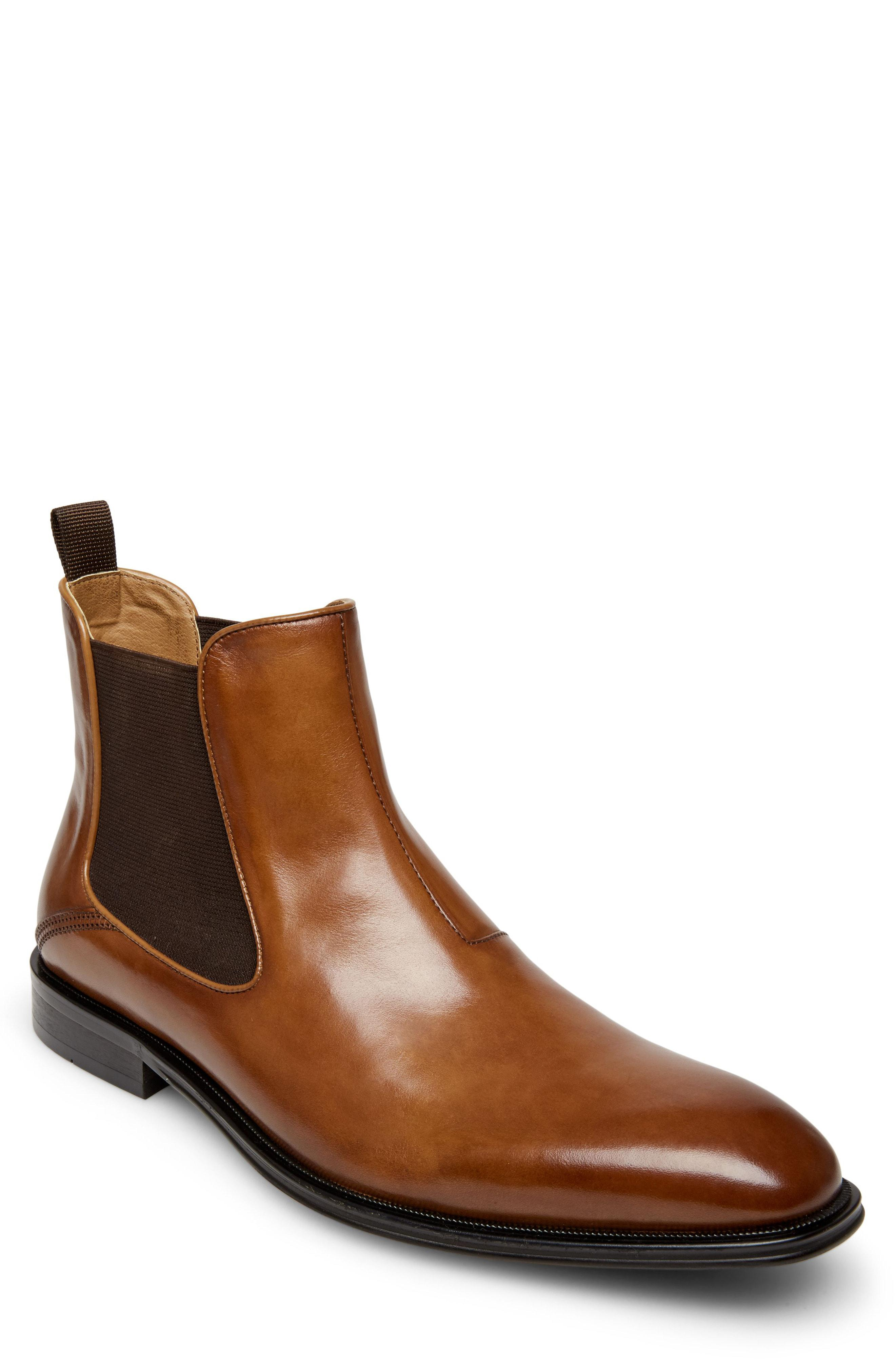 price reduced big sale the sale of shoes Steve Madden Malice Chelsea Boot in Tan Leather (Brown) for Men - Lyst